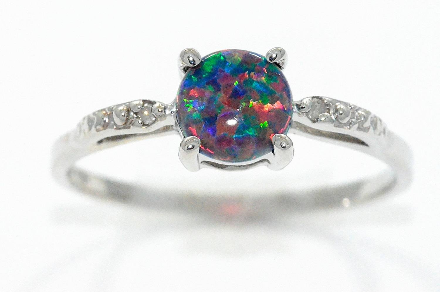 15 Best Collection Of Australia Opal Engagement Rings