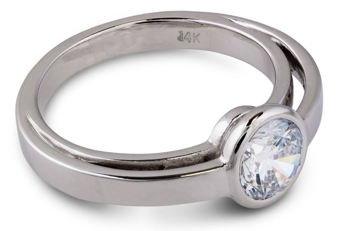 Balance : Lab Grown Diamond Solitaire Engagement Ring : 7863 Within Lab Diamonds Engagement Rings (View 2 of 15)