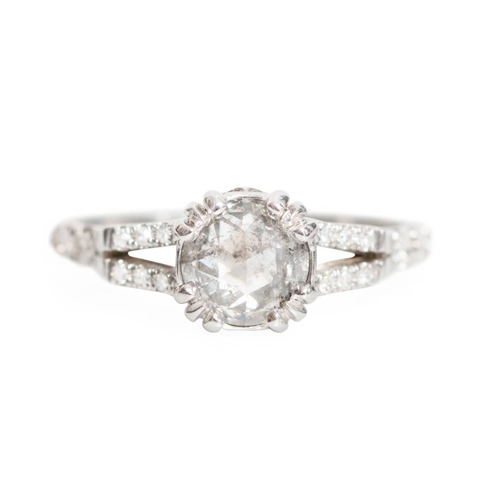 Beloved Solitaire Ring – Catbird Within Engagement Rings With Side Diamonds (View 15 of 15)