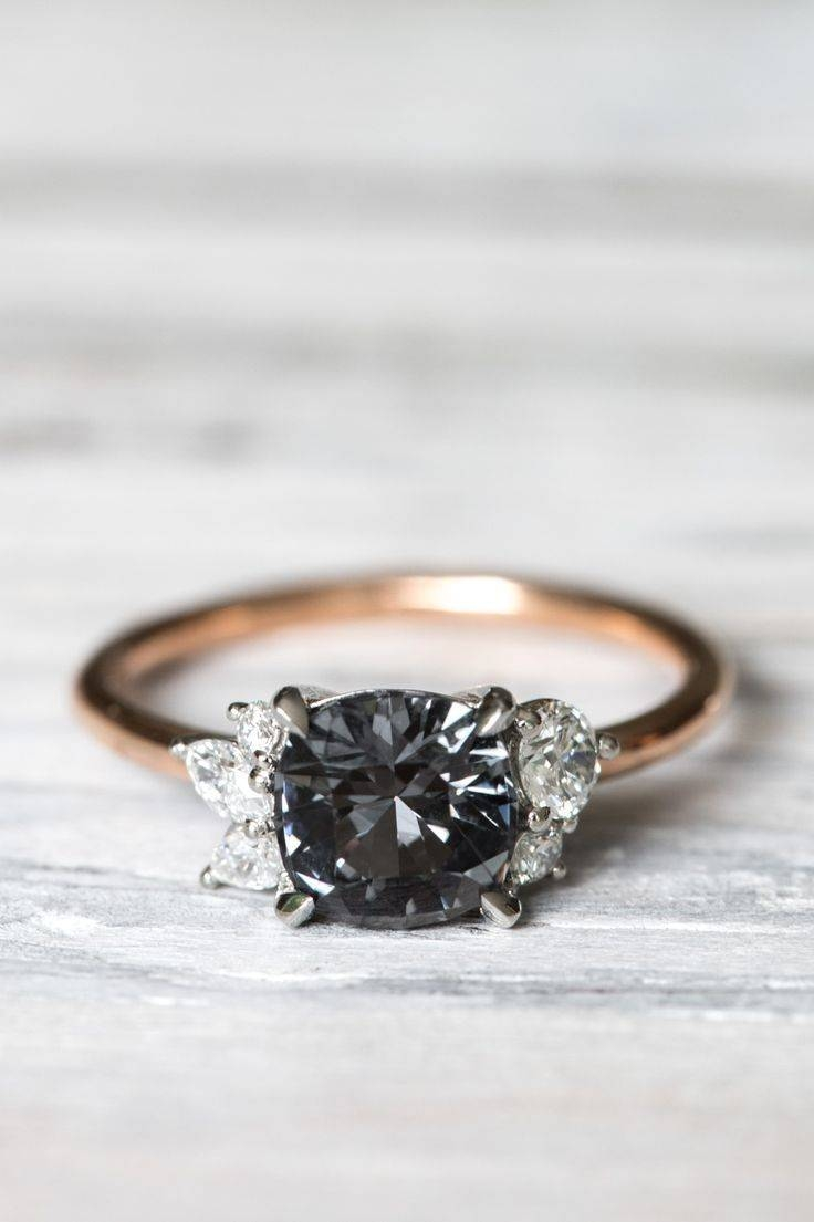 Best 25+ Black Engagement Rings Ideas On Pinterest | Black Wedding With Black Stone Wedding Rings (View 5 of 15)