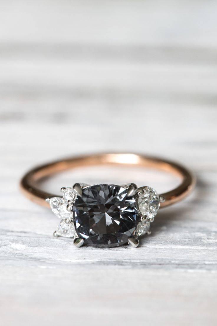 Best 25+ Black Engagement Rings Ideas On Pinterest | Black Wedding With Black Stone Wedding Rings (Gallery 7 of 15)