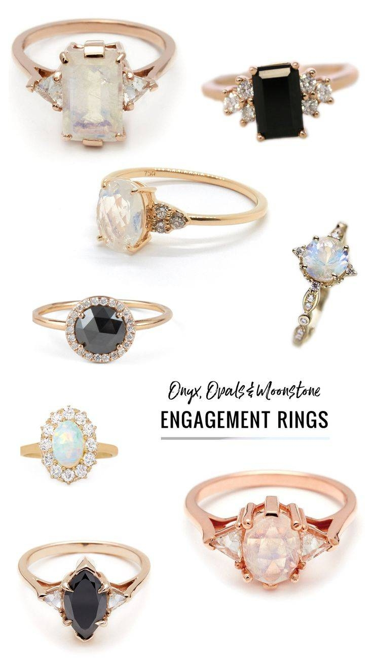 Best 25+ Diamond Alternatives Ideas On Pinterest | Pretty Rings In Colorful Diamond Engagement Rings (View 3 of 15)