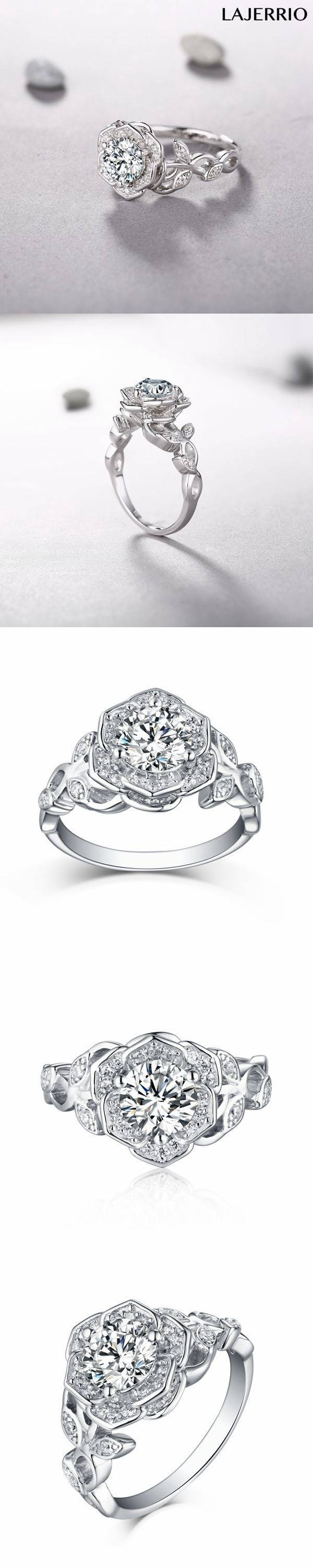 Best 25+ White Sapphire Rings Ideas On Pinterest | Sapphire In Best And Newest Horizon Wedding Bands (View 9 of 15)