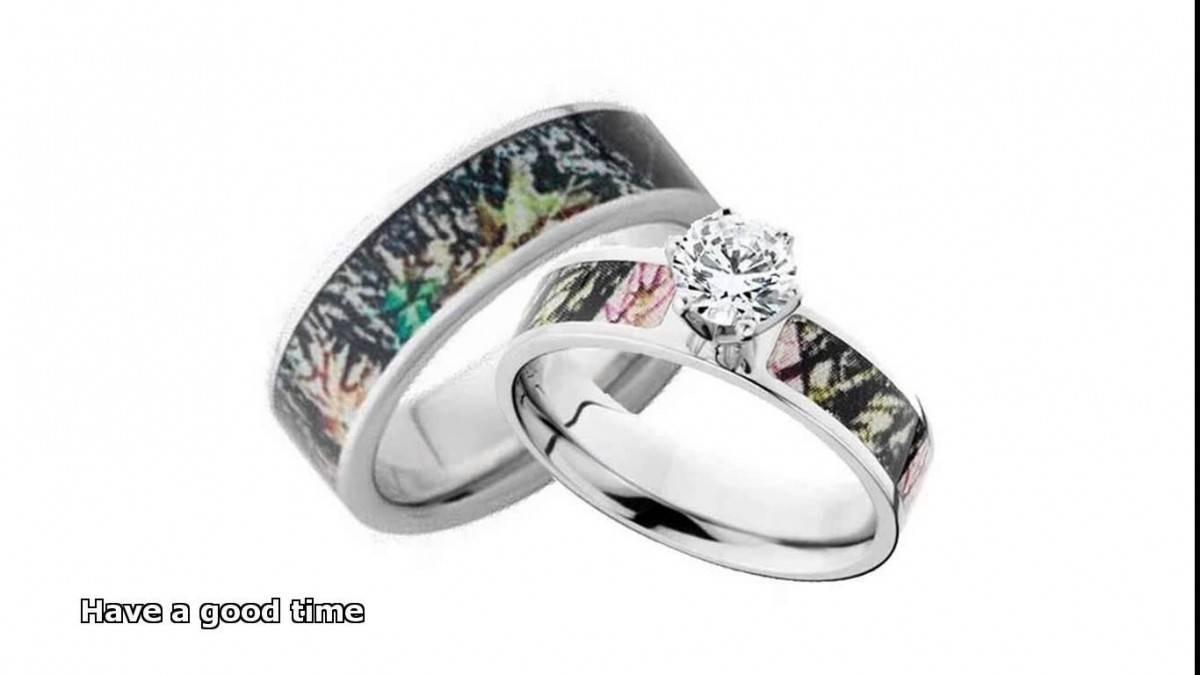 Best Camo Wedding Rings For Him And Her Within Durable Wedding Bands For Men (Gallery 15 of 15)