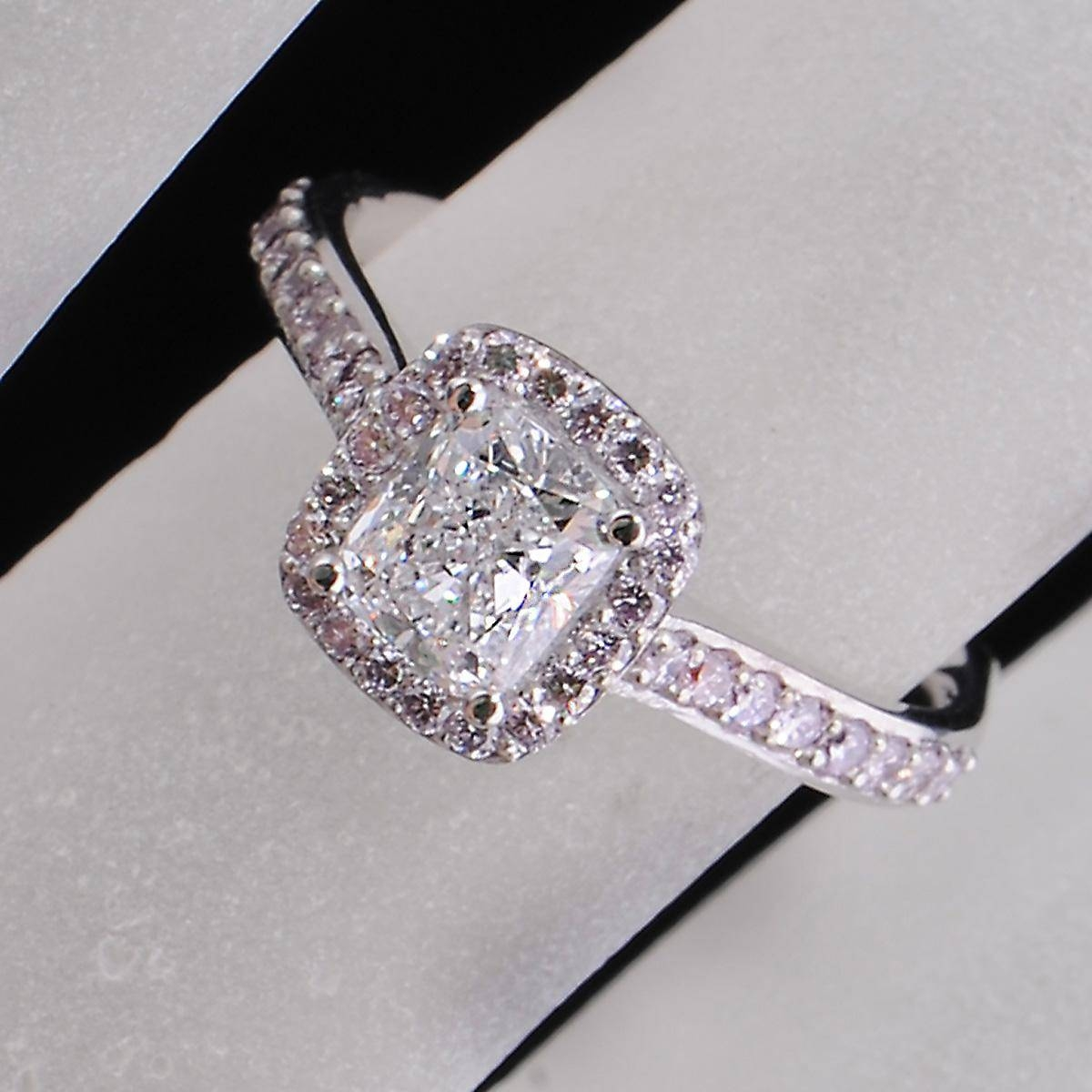 Black And Pink Diamond Engagement Ring Hd Engagement Rings Pink Pertaining To Pink And Diamond Engagement Rings (View 2 of 15)
