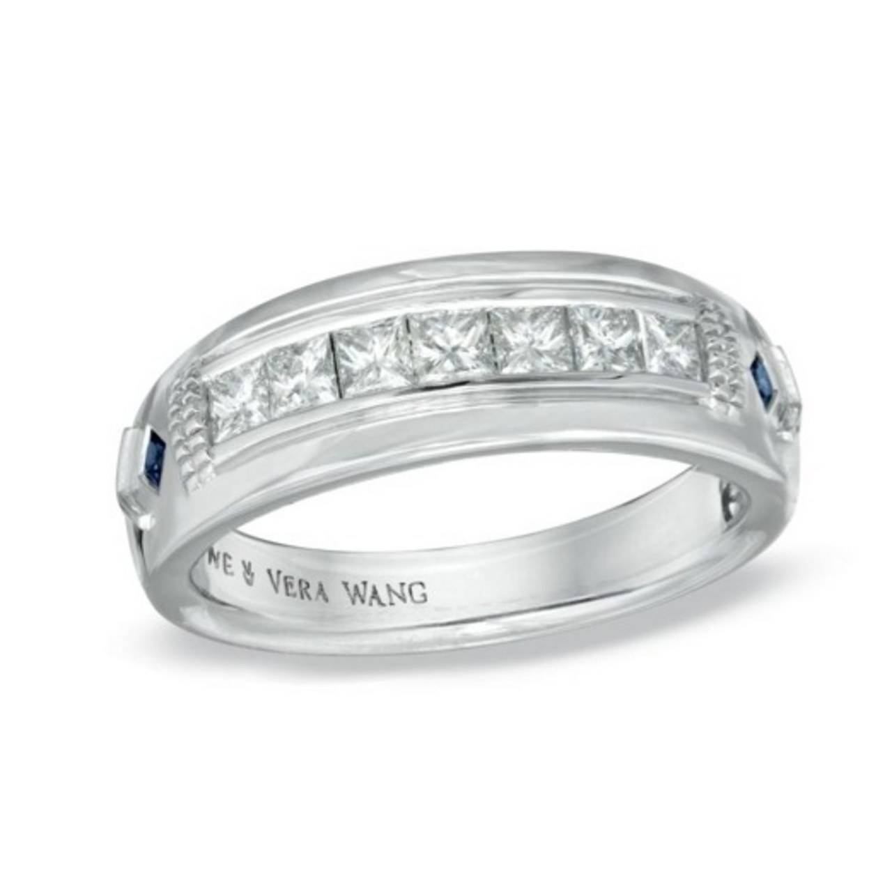 Bling Y Wedding Rings For Guys: Do Or Don't? (Apparently They're In Guys Wedding Bands (Gallery 281 of 339)