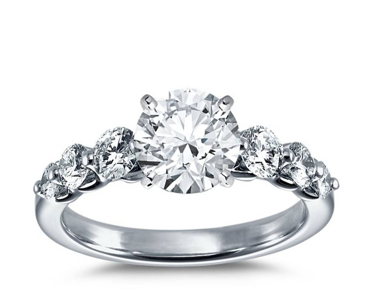 Blue Nile's 5 Most Pinned Engagement Rings (View 5 of 15)