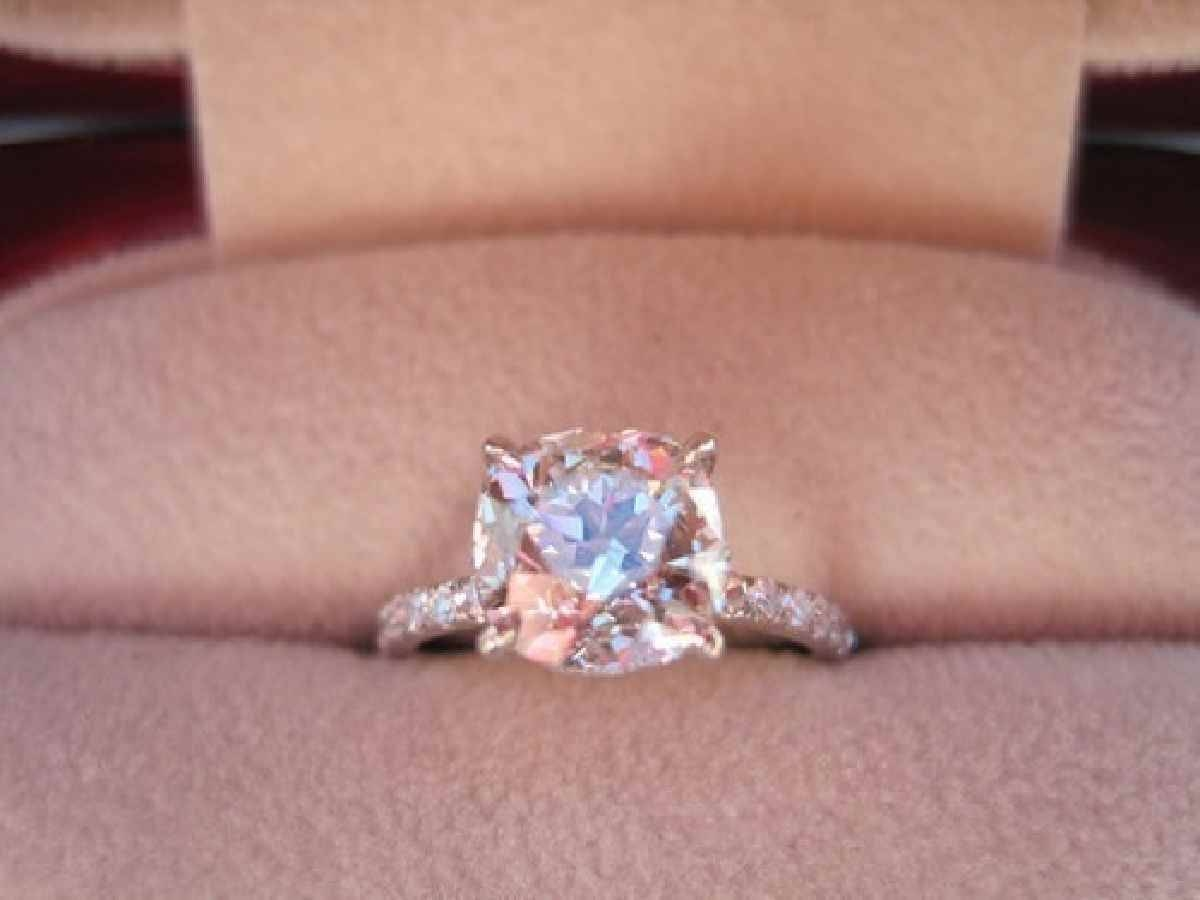 Blush Pink Diamond Engagement Rings | Best Images Collections Hd For Pink And Diamond Engagement Rings (View 3 of 15)