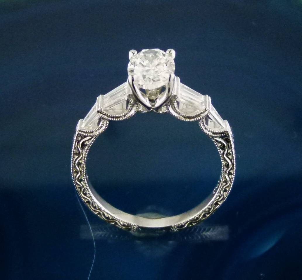 "Break Away From The ""halo"" Engagement Rings 