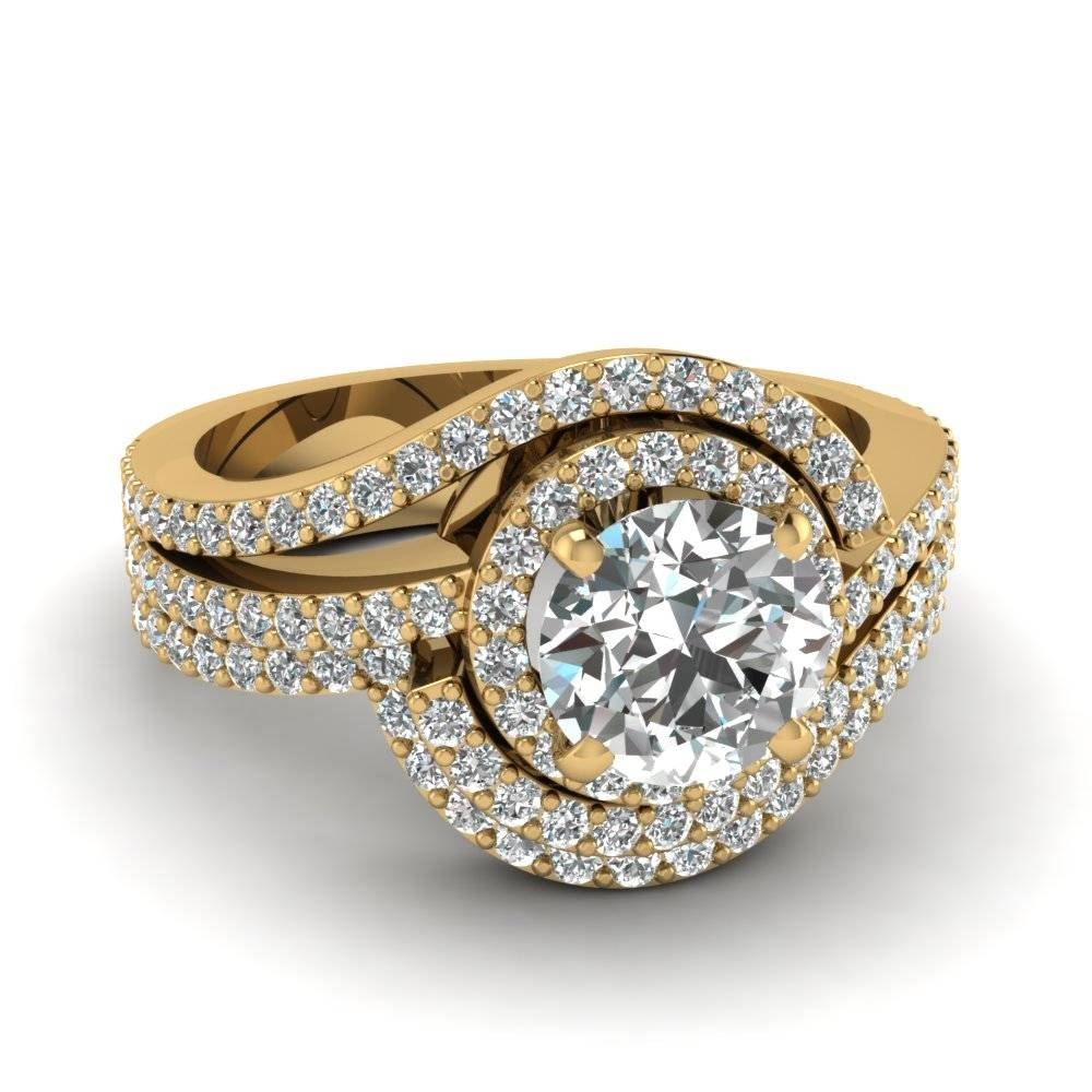 Bridal Sets – Buy Custom Designed Wedding Ring Sets | Fascinating For Yellow Diamond Wedding Sets (View 7 of 15)