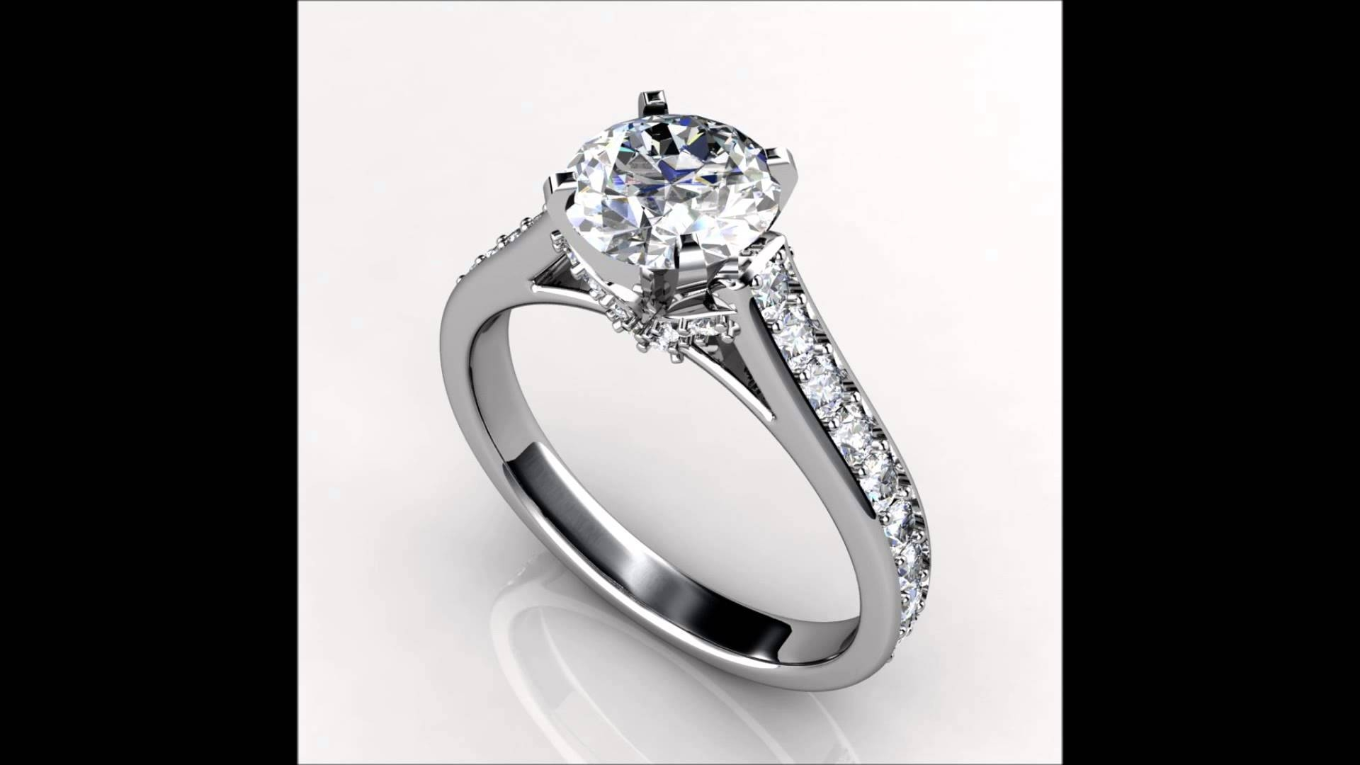 Bridal Sets Engagement Rings Promise Rings Solitaire Engagement Throughout Chicago Wedding Bands (View 1 of 15)