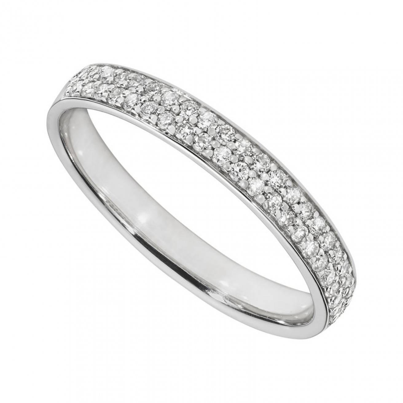 Buy 18ct White Gold Wedding Rings Online – Fields (View 11 of 15)