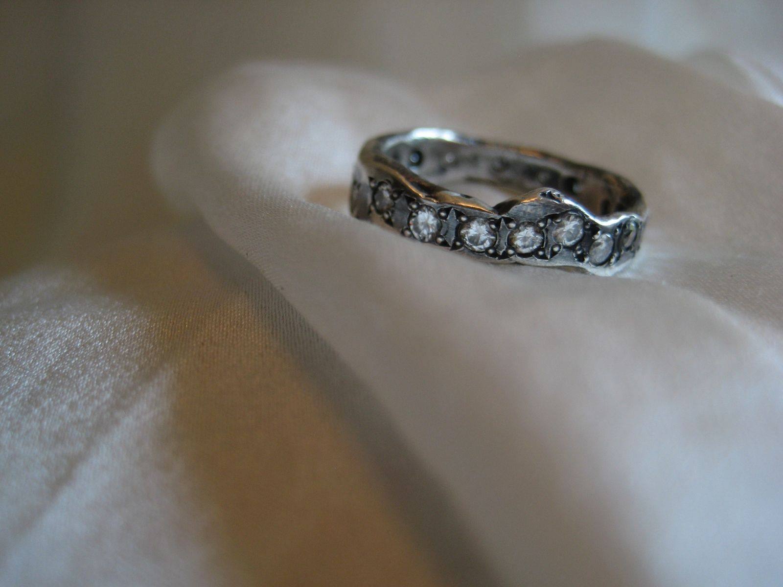 Buy A Handmade Elizabeth Wedding Band,stackable Ring (View 10 of 15)