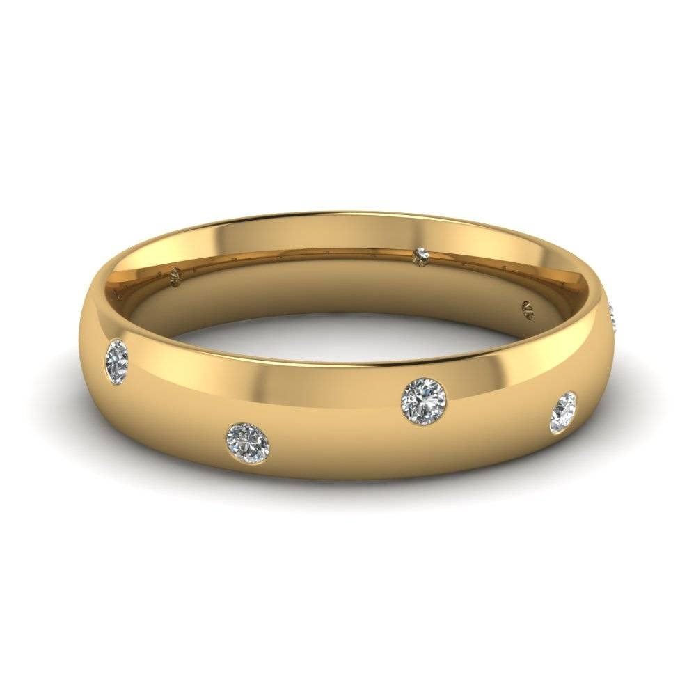 Buy Affordable Mens Wedding Rings Online | Fascinating Diamonds With Gold Male Wedding Rings (View 2 of 15)