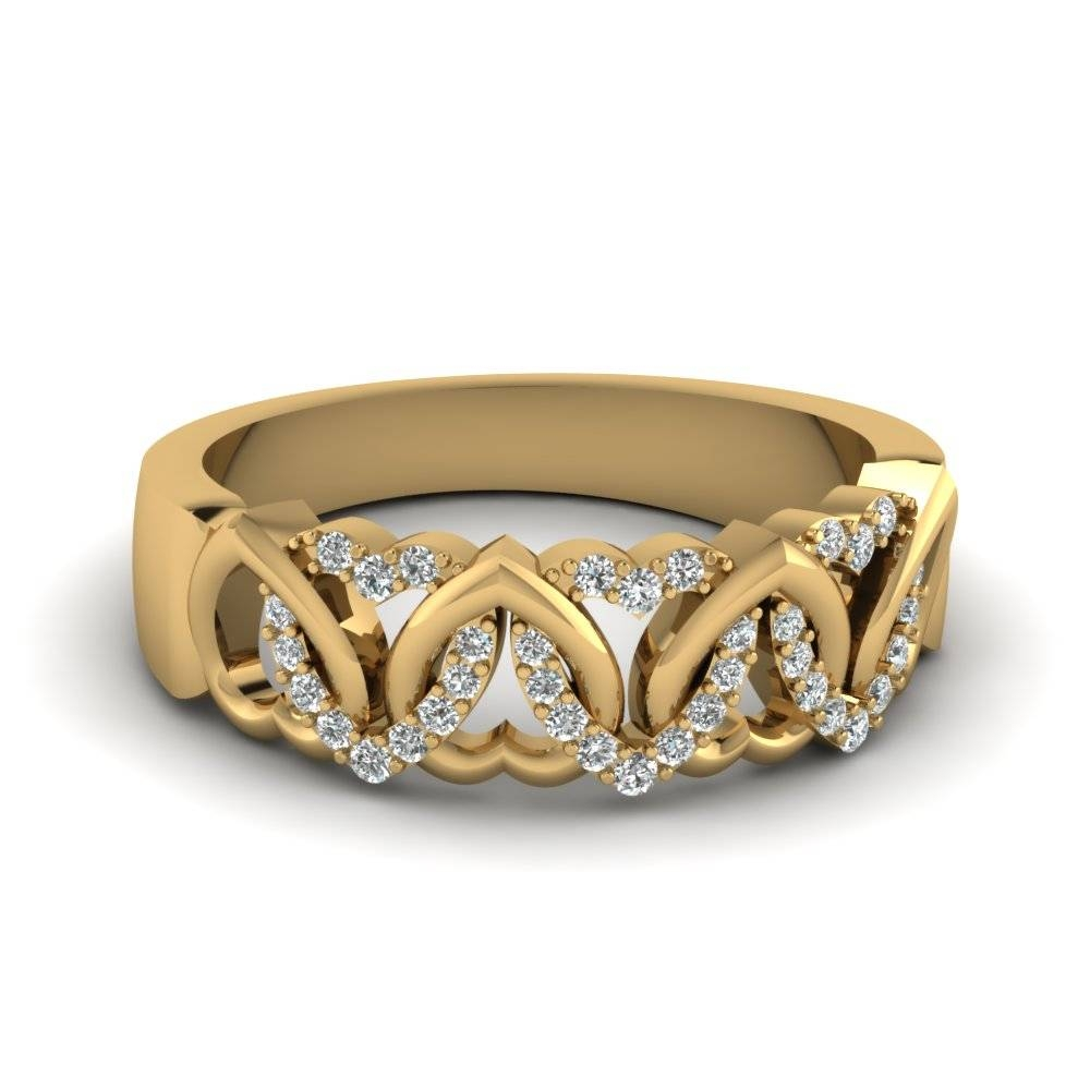 Buy Eternal Yellow Gold Womens Wedding Bands Online | Fascinating Within Gold Wedding Rings For Women (View 3 of 15)