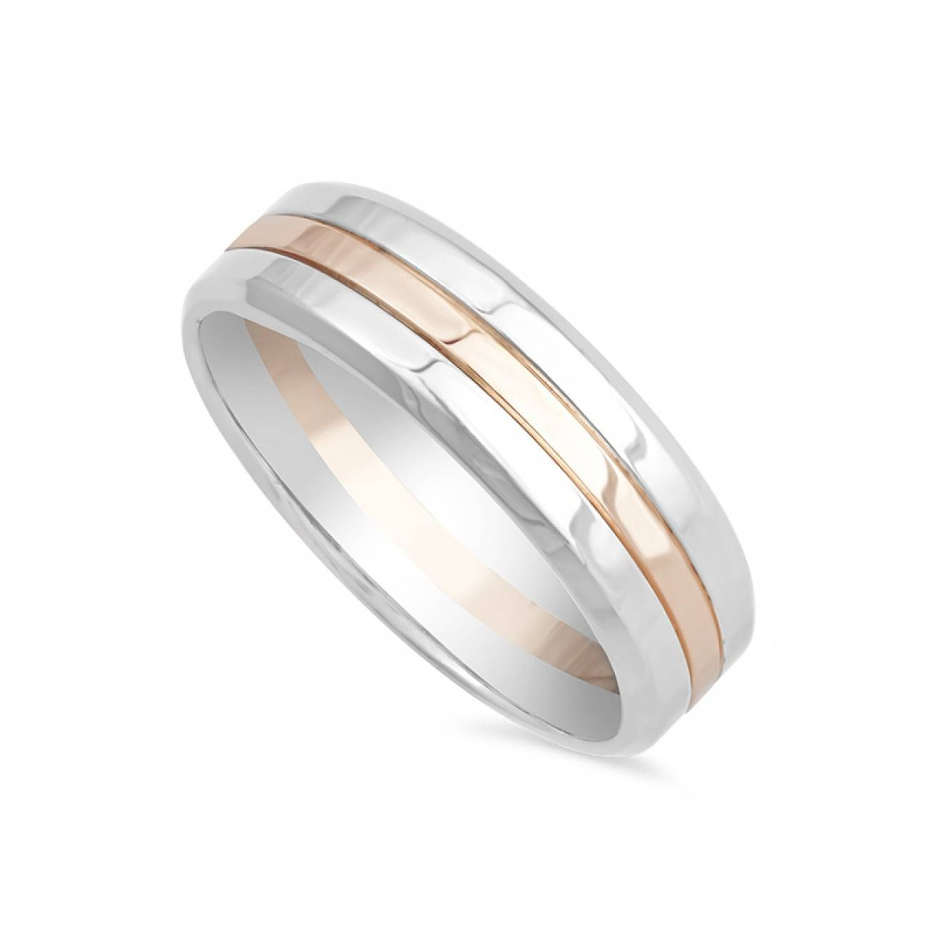 Buy Men's Wedding Rings Online – Fraser Hart Regarding Latest Rose Gold Platinum Wedding Bands (View 5 of 15)