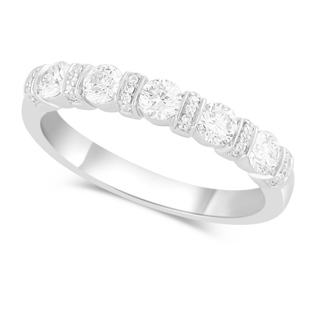 Buy Platinum Wedding Bands Online – Fraser Hart Throughout Newest Platinum Channel Set Wedding Band (View 14 of 15)