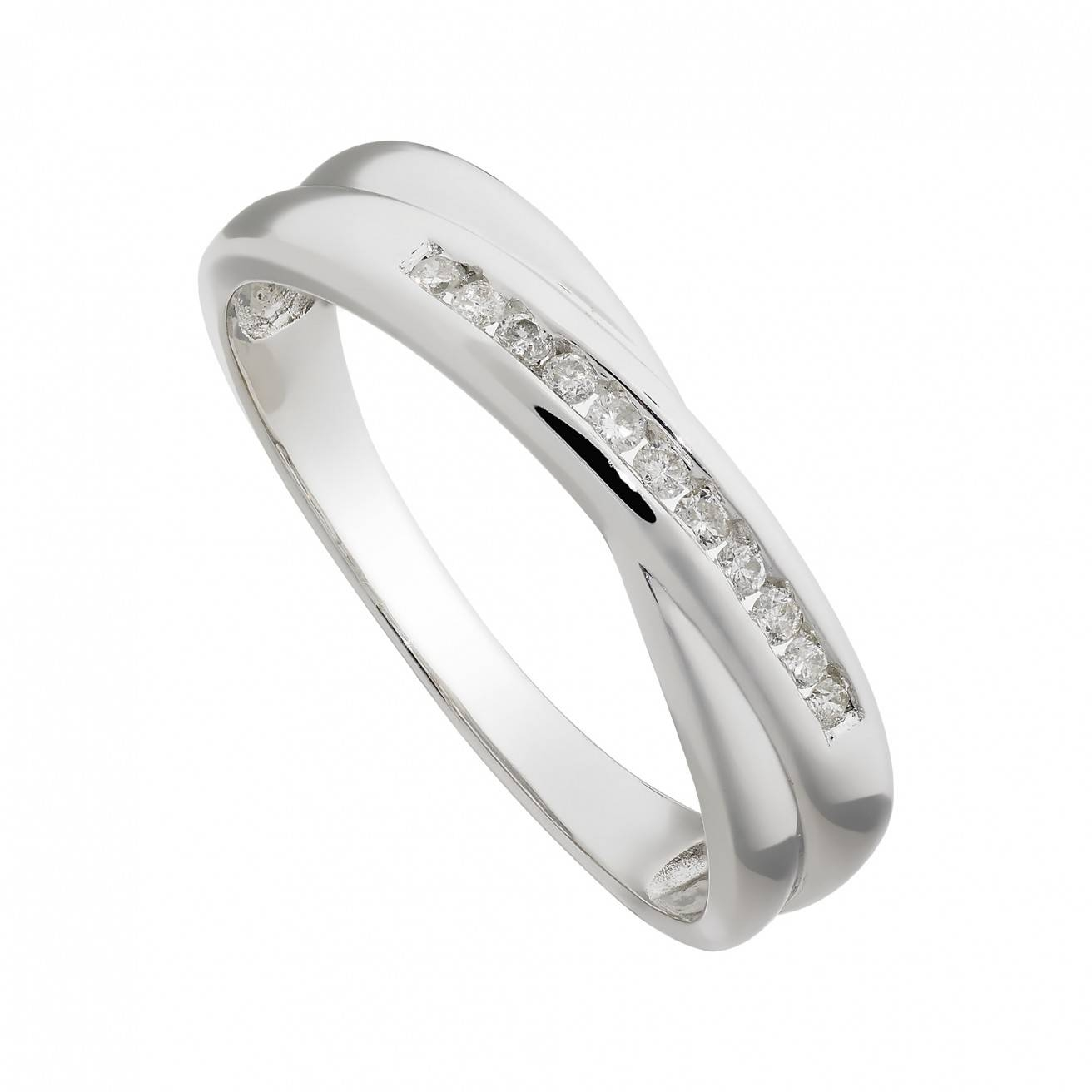 Buy White Gold Wedding Rings Online – Fraser Hart In Ladies White Gold Diamond Wedding Bands (View 14 of 15)