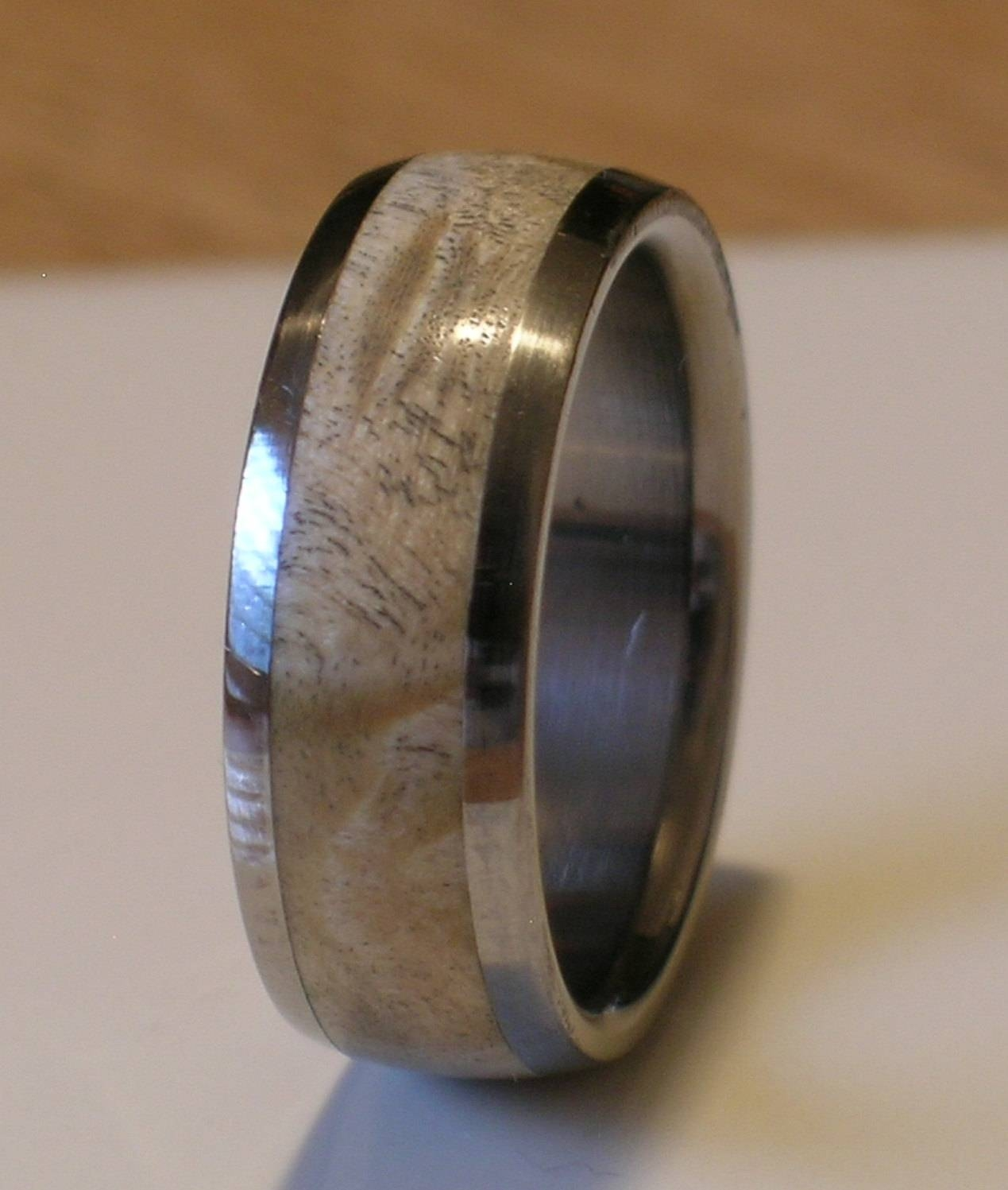 Carbon Fiber Mens Wedding Band Tags : Cool Men Wedding Ring Within Wood Inlay Wedding Bands (View 4 of 15)