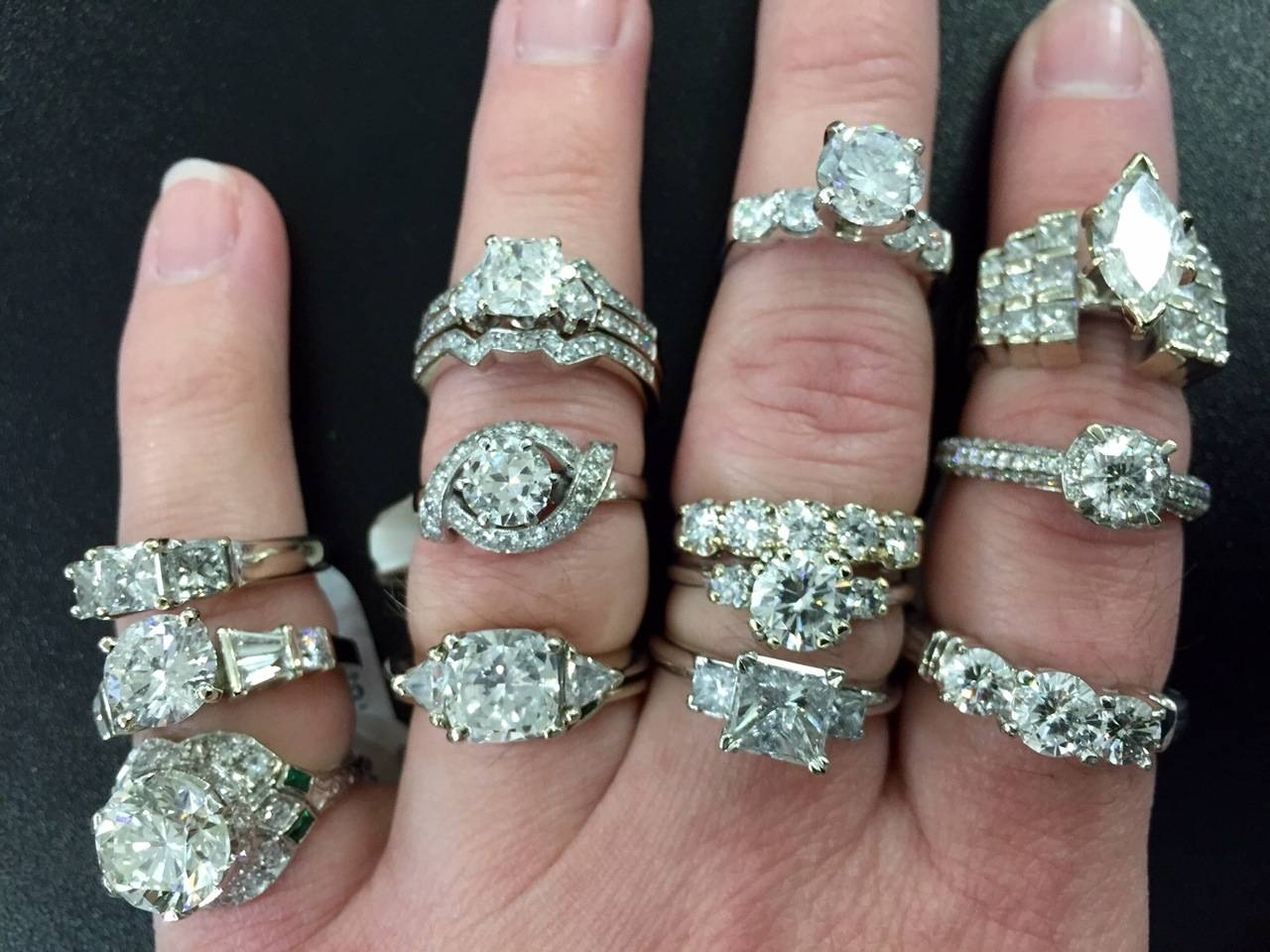 Cheap Engagement Rings: Finding The Best On A Budget In Jewelry Stores Wedding Rings (View 13 of 15)