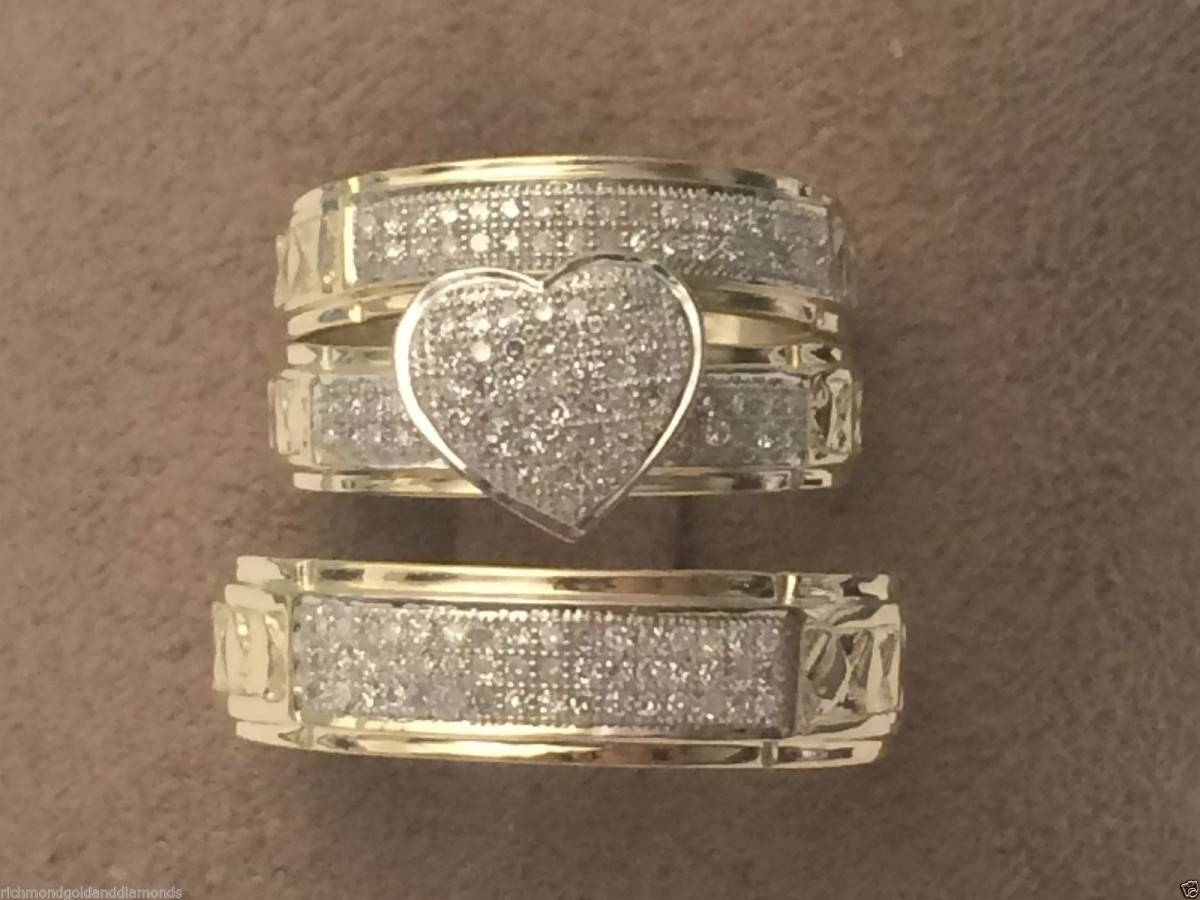 Cheap Wedding Rings Sets For Him And Her With Regard To Low Cost Wedding Bands (View 4 of 15)