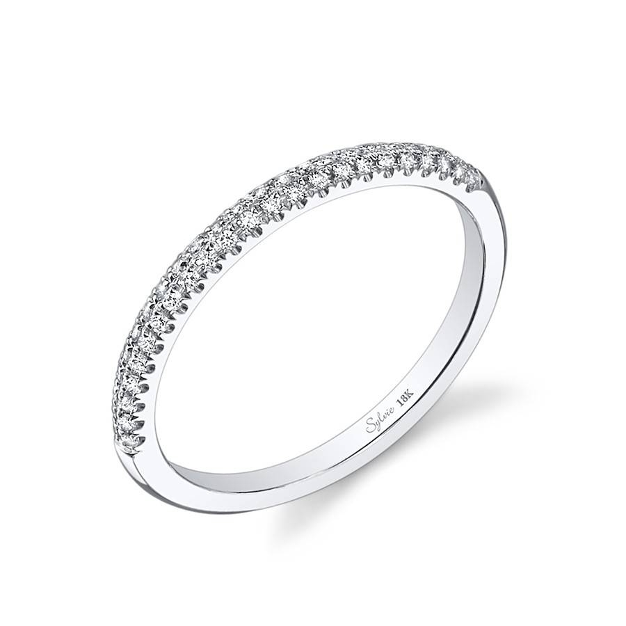 Featured Photo of Pave Set Diamond Wedding Bands