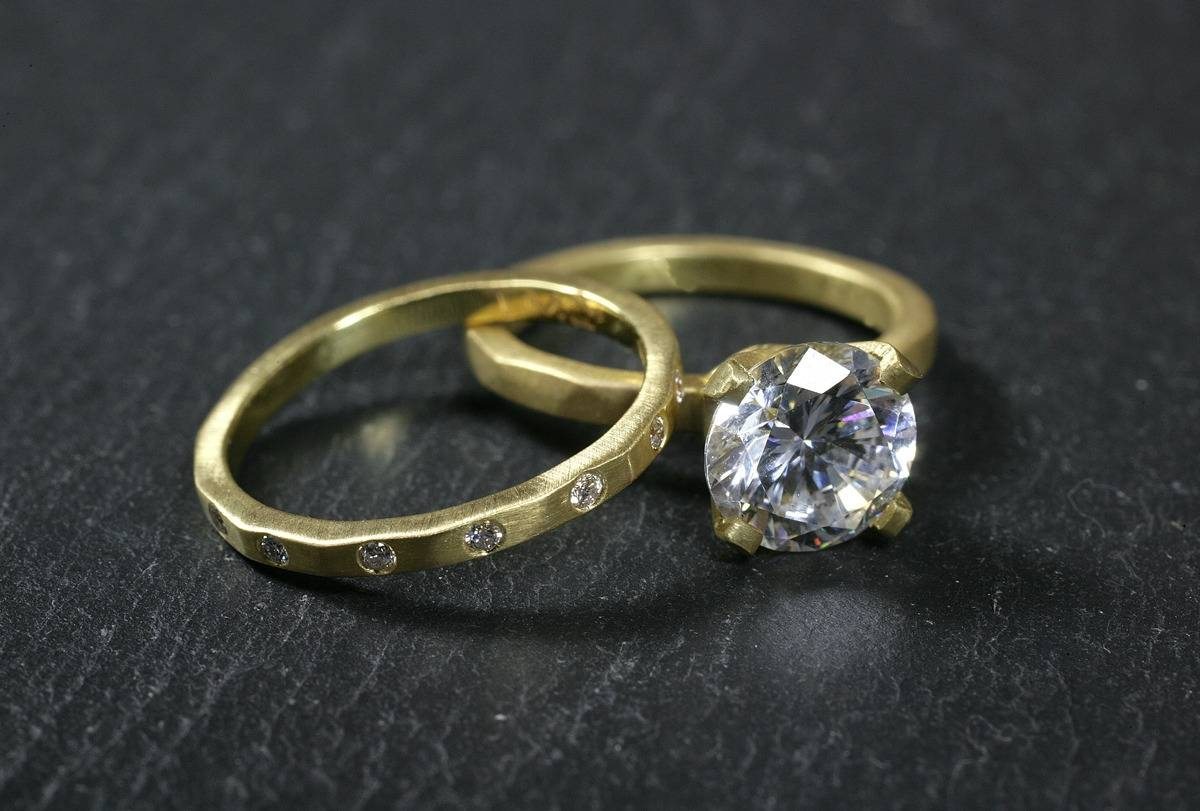 Color + Design Blog / 10 Non Traditional Engagement Rings To Throughout Nontraditional Engagement Rings (Gallery 6 of 15)