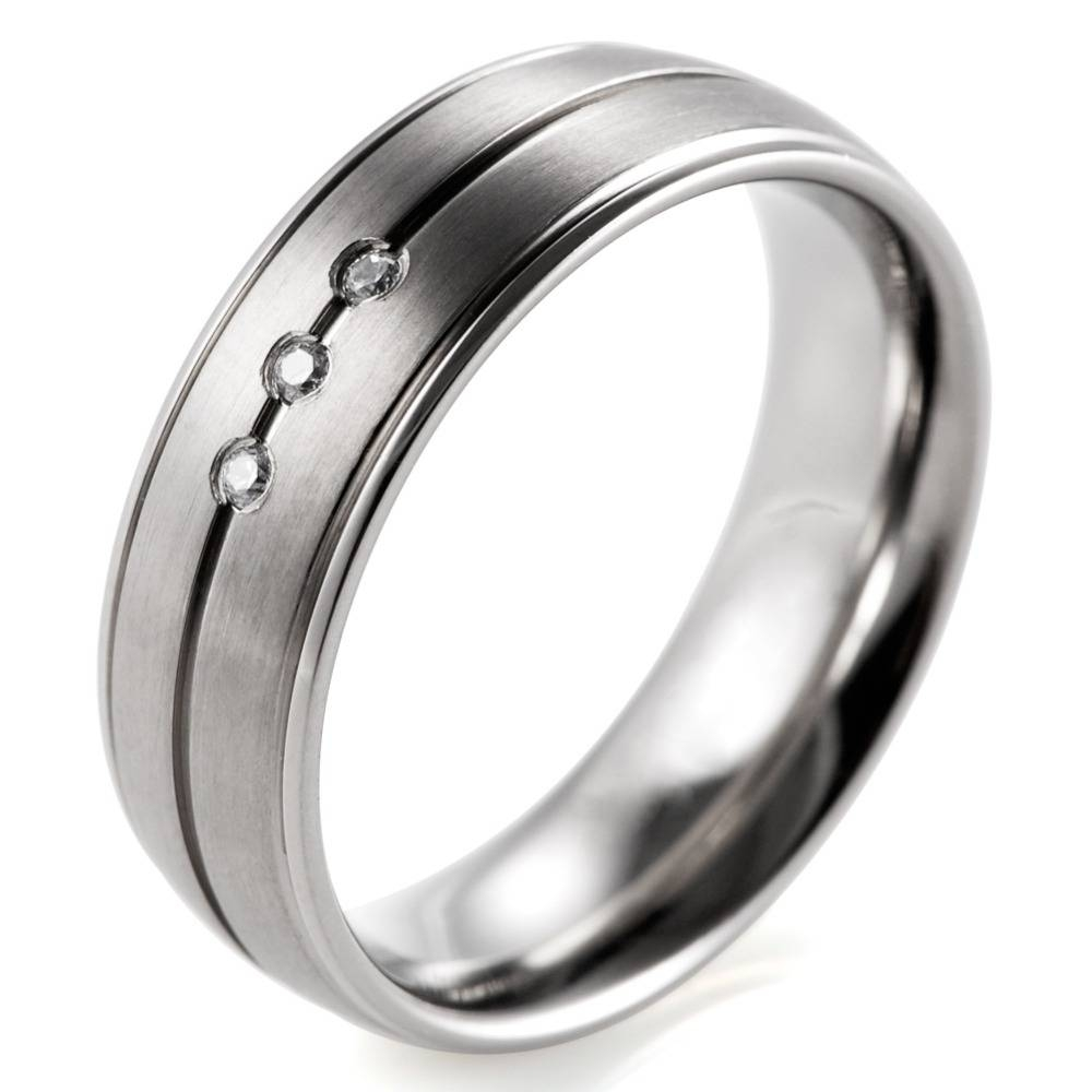 Compare Prices On 7Mm Titanium  Online Shopping/buy Low Price 7Mm Regarding 7Mm Titanium Wedding Bands (View 5 of 15)