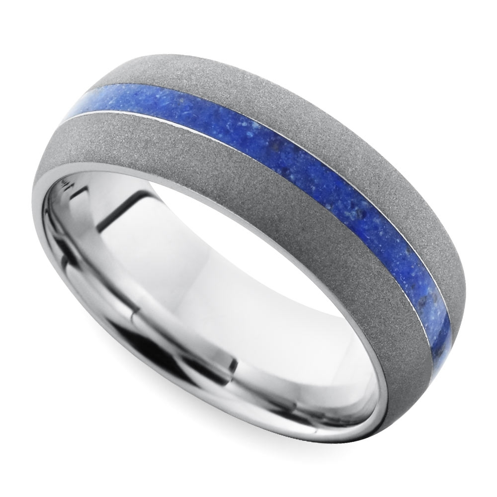 Cool Men's Wedding Rings For Sports Fanatics Throughout Los Angeles Wedding Bands (View 3 of 15)