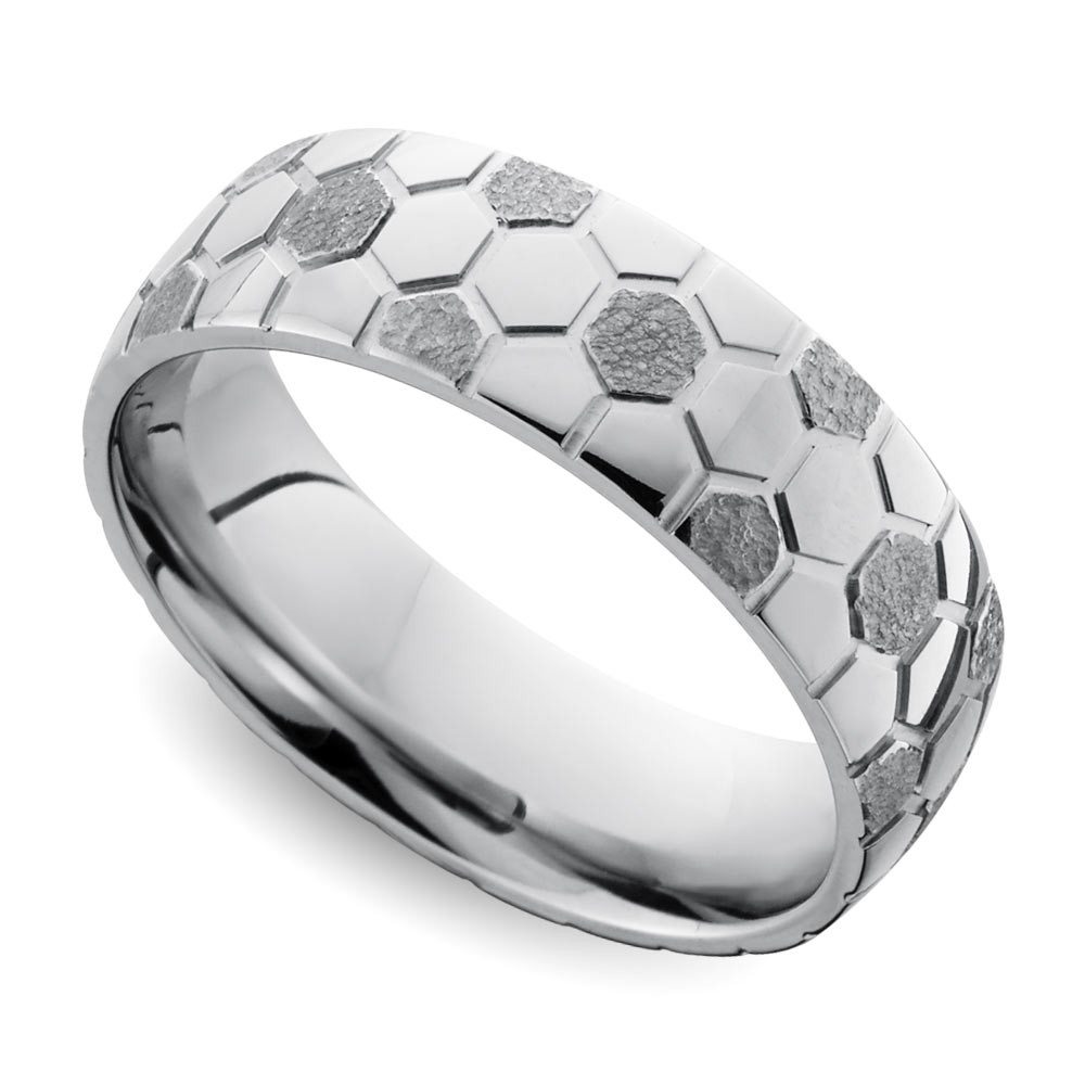 Cool Men's Wedding Rings That Defy Tradition For Best And Newest Trendy Mens Wedding Bands (View 5 of 15)
