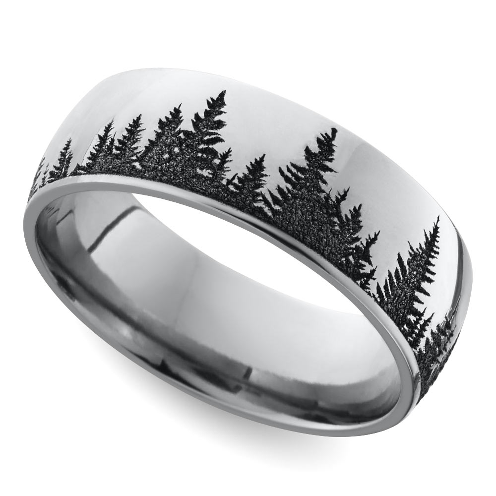 Cool Men's Wedding Rings That Defy Tradition With Recent Trendy Mens Wedding Bands (View 8 of 15)