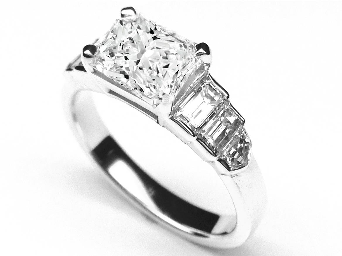 Create Your Own Engagement Ring – Choose A Setting For Radiant Cut Engagement Ring Settings (View 14 of 15)
