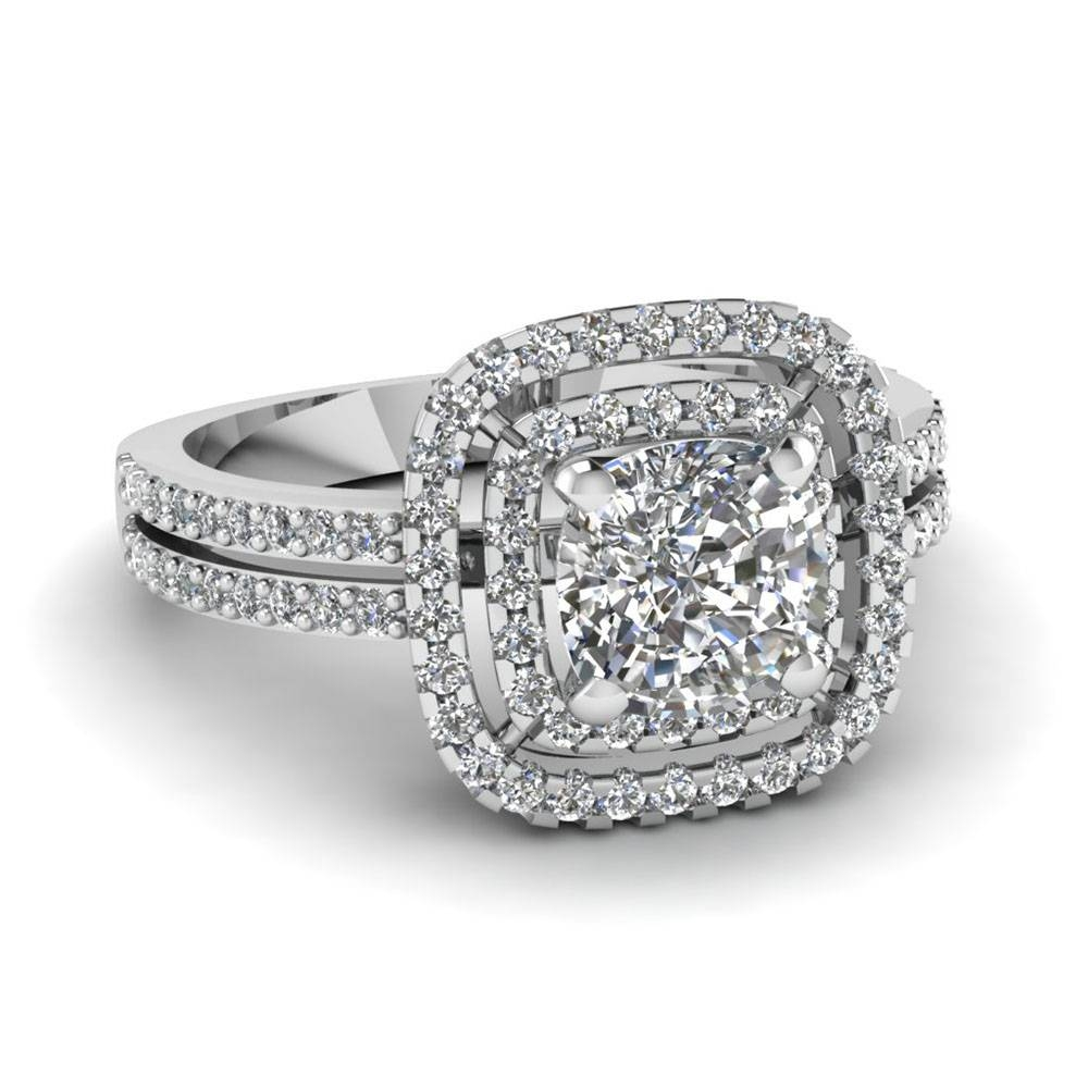 15 Best Ideas Of Round Cushion Cut Diamond Engagement Rings