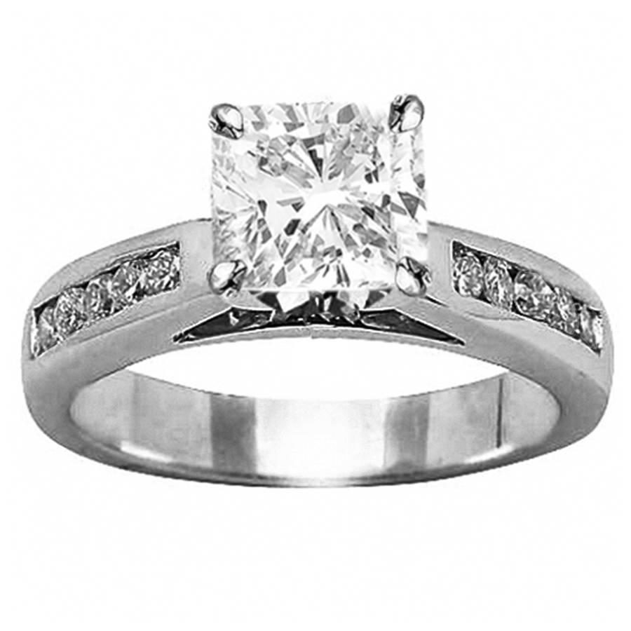 Custom Diamond Engagement Rings | Houston Diamond District In Houston Engagement Rings (Gallery 1 of 15)
