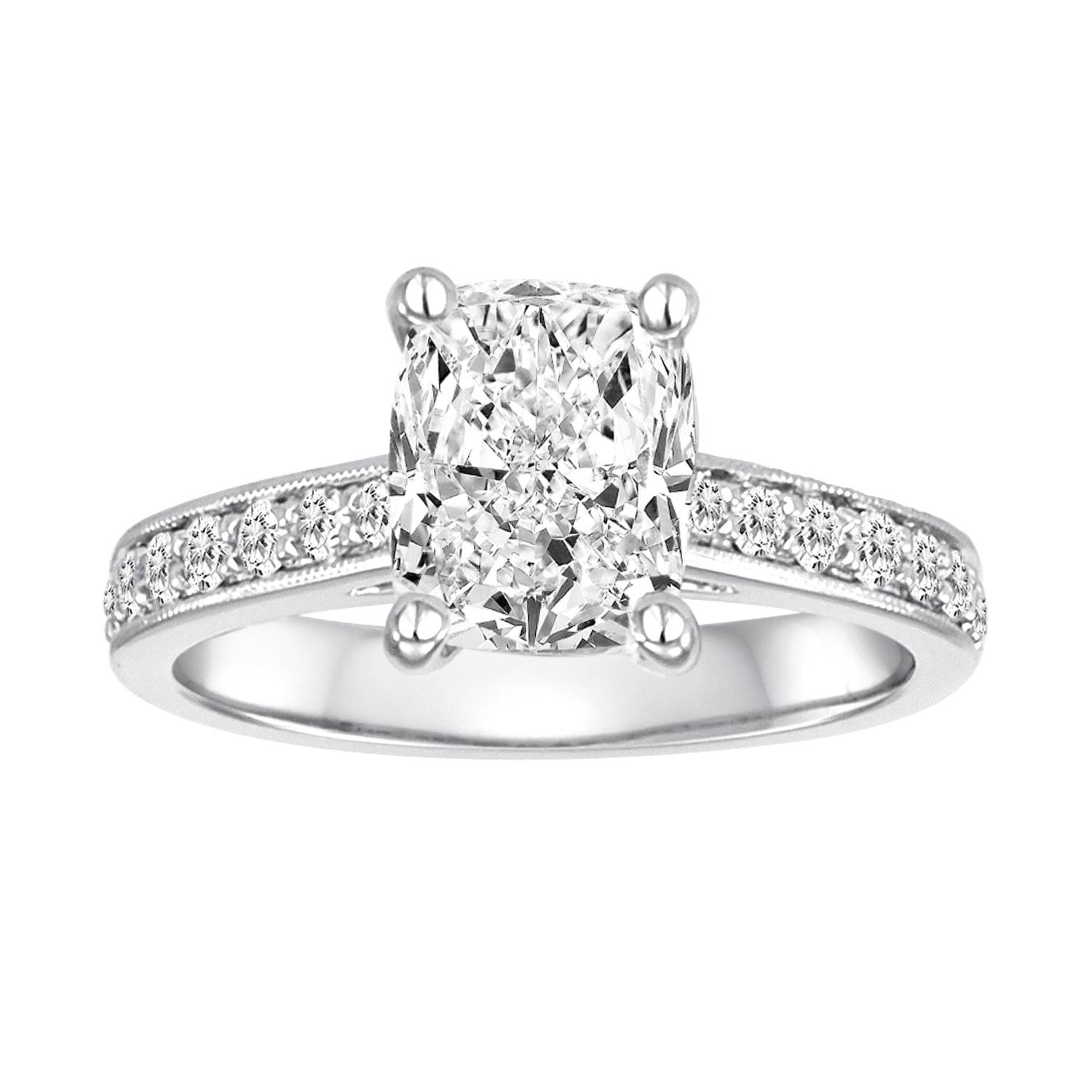 Custom Diamond Engagement Rings: Wholesale Prices For Buy Diamond Engagement Rings Online (View 8 of 15)
