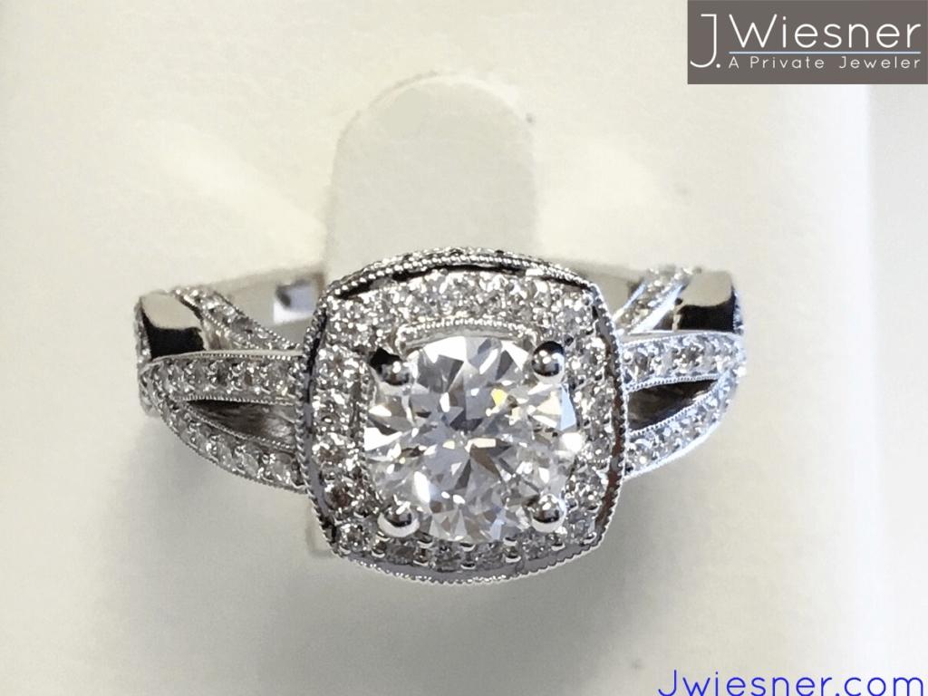 Custom Engagement Rings San Diego | Vintage Engagement Rings Inside San Diego Engagement Rings (View 8 of 15)