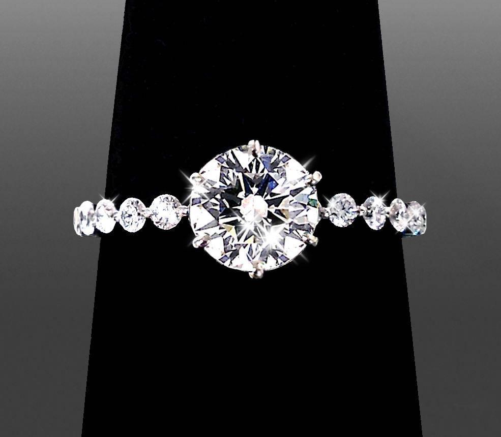 Custom Engagement Rings – Vanessa Nicole Jewels | Custom Throughout San Diego Engagement Rings (View 12 of 15)