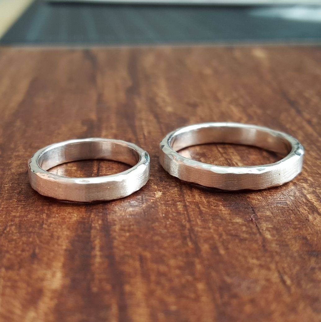 Custom 'horizon' Wedding Bandlel Jewelry (Lel Designs Llc In Latest Horizon Wedding Bands (Gallery 1 of 15)