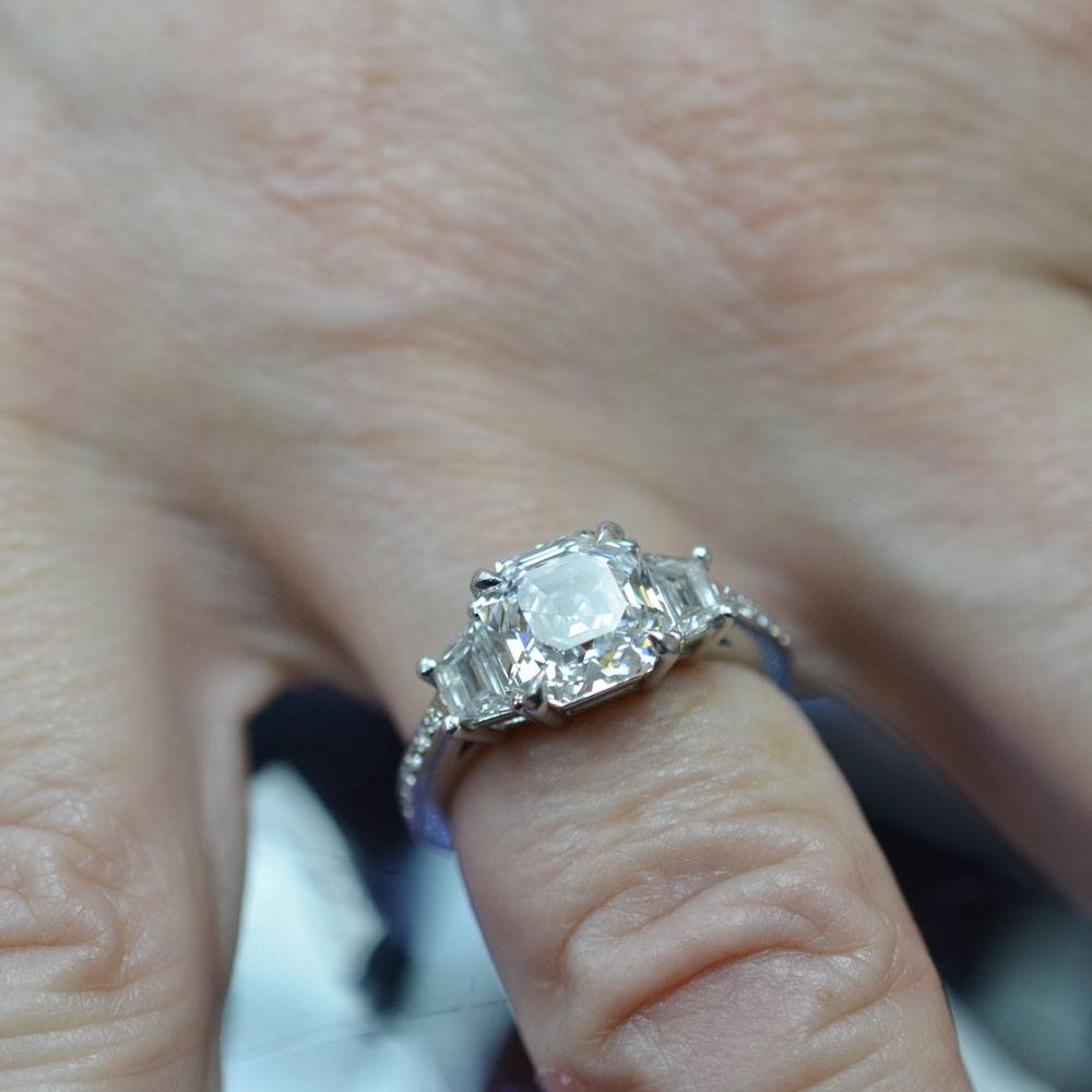 Photo Gallery of Custom Designed Engagement Rings Viewing 3 of 15