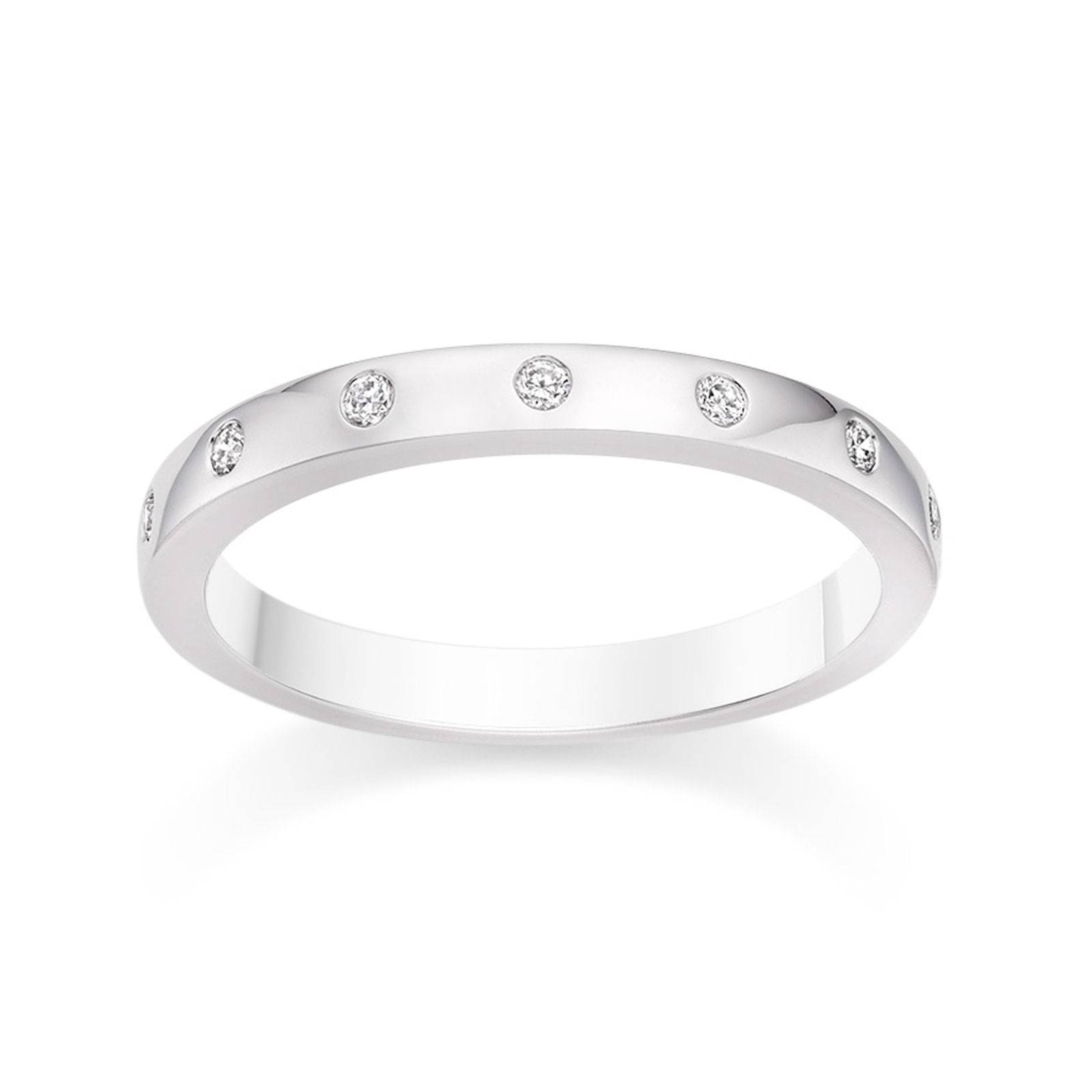 D Shaped Diamond Wedding Ring In Platinum Wedding Dress From Regarding Most Recently Released Platinum Wedding Band With Diamonds (Gallery 7 of 15)