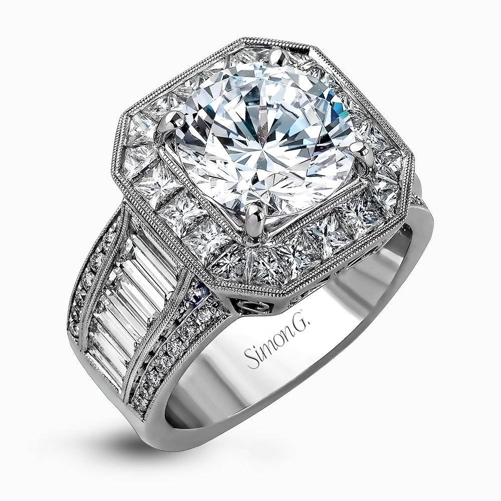Designer Engagement Rings And Custom Bridal Sets | Simon G. Inside Custom Designed Engagement Rings (Gallery 9 of 15)
