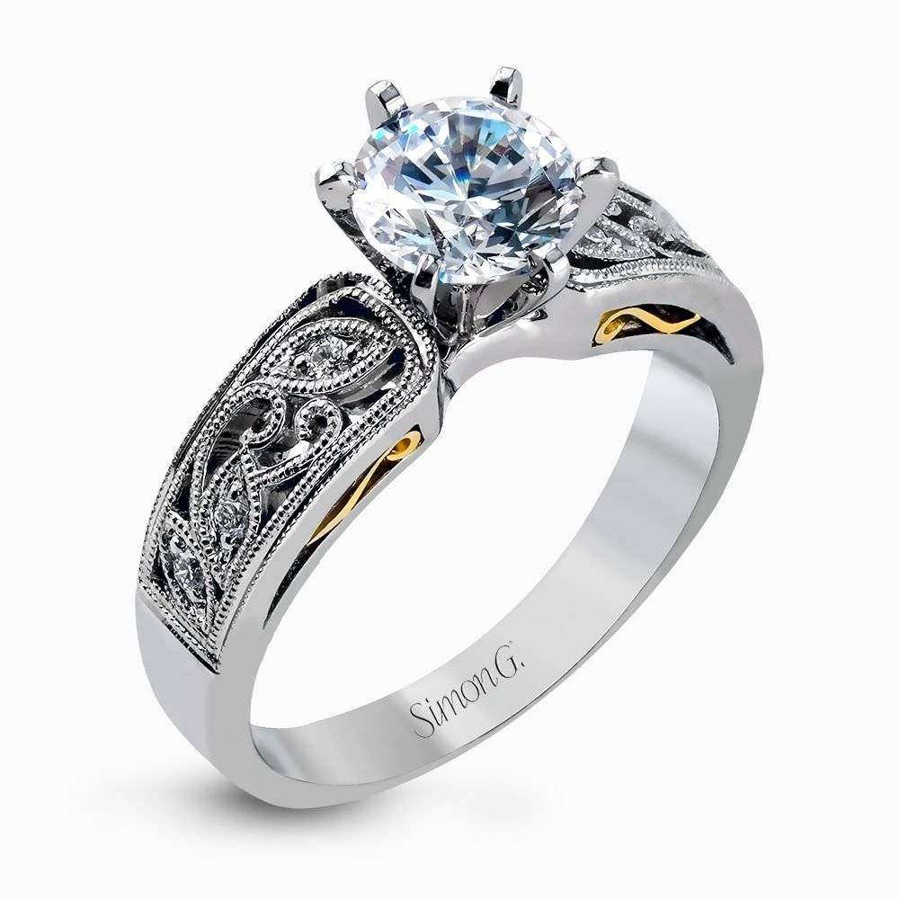 Featured Photo of Interlocking Engagement Ring Wedding Bands