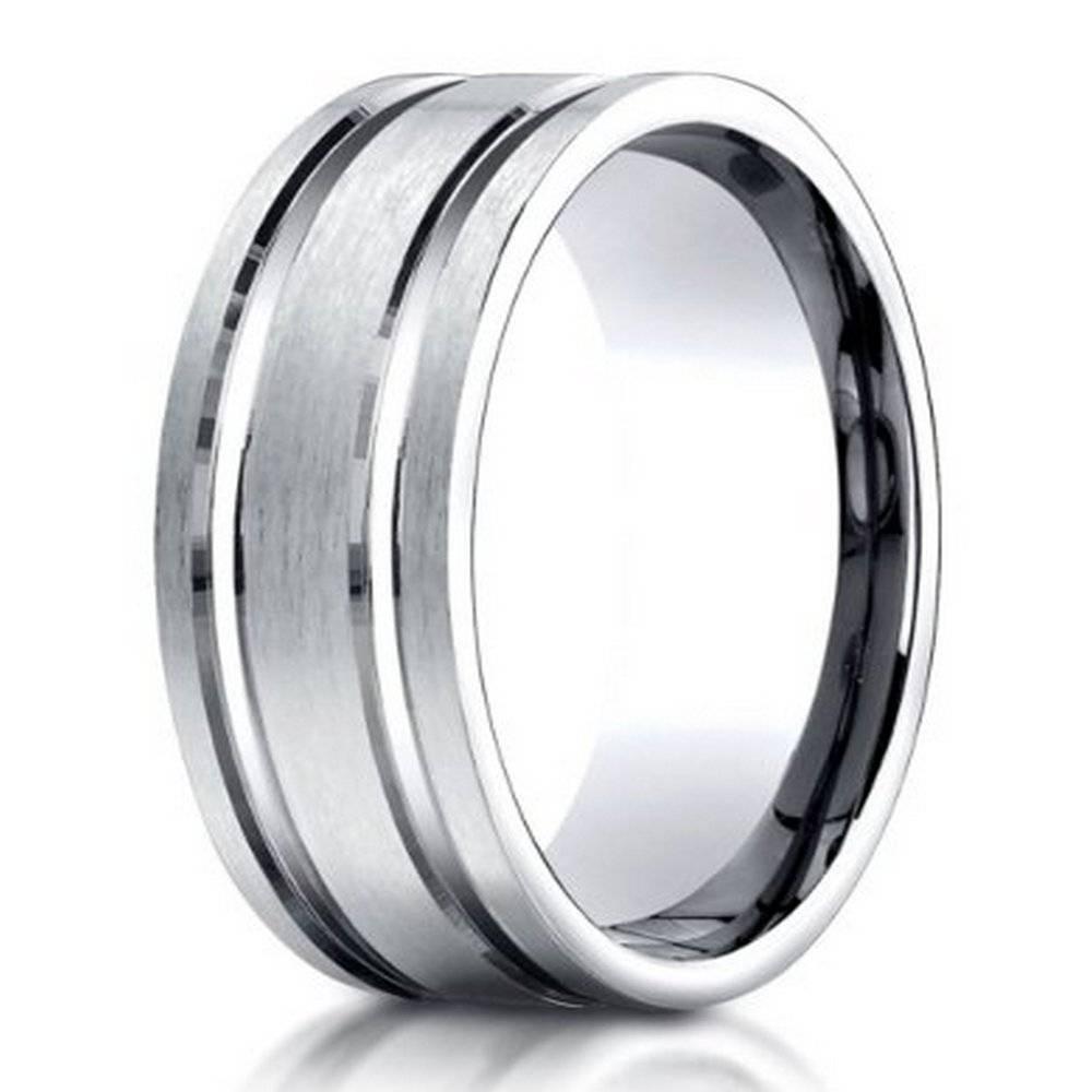 Designer Men's Palladium Wedding Band| 8Mm: Just Men's Rings Intended For Mens Wedding Rings Palladium (View 3 of 15)
