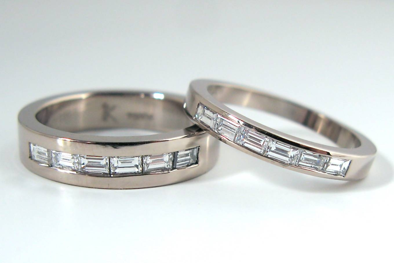 Diamond Baguette Bands With Recent Mens Baguette Diamond Wedding Bands (Gallery 3 of 15)
