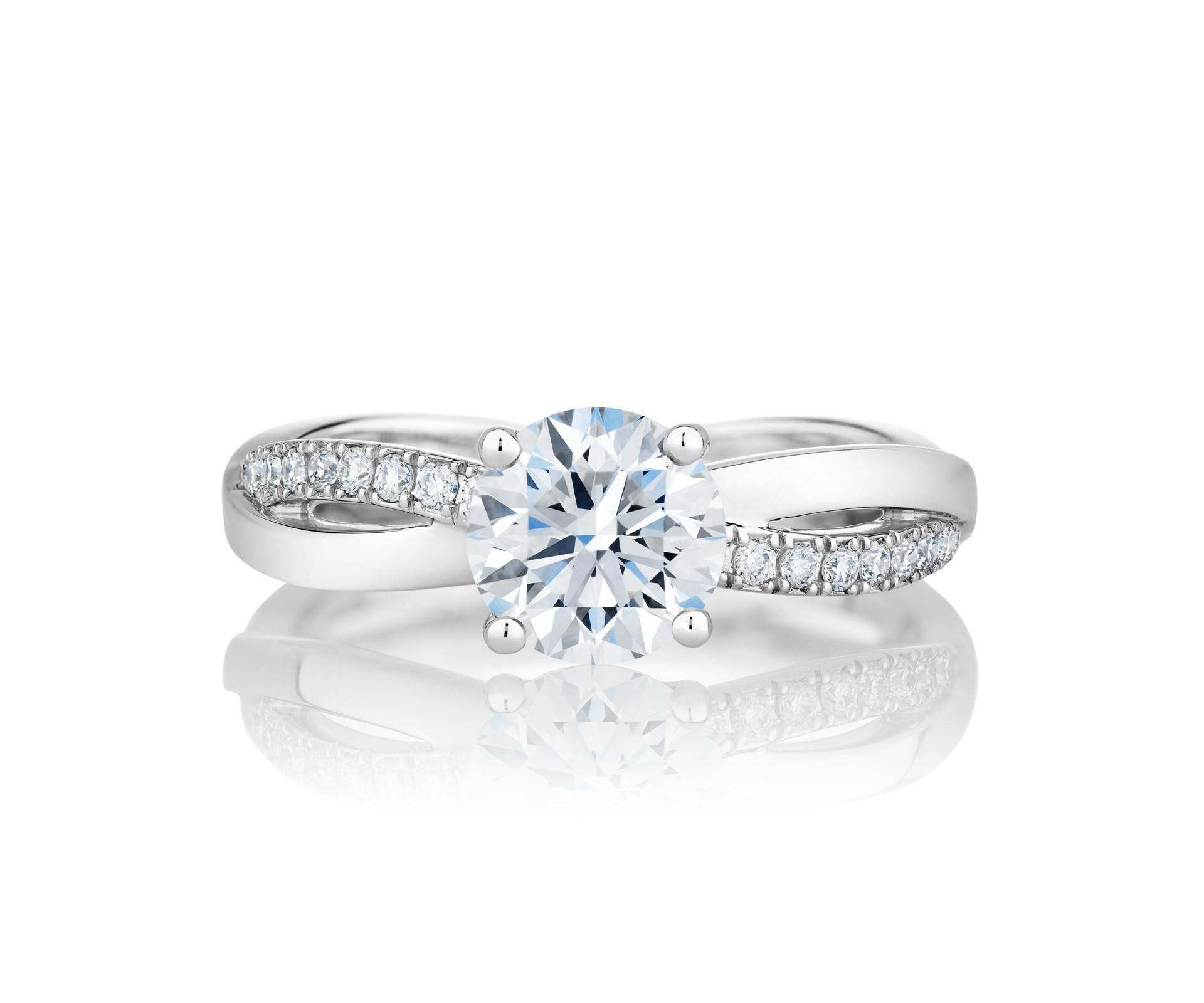 Diamond Engagement Rings & Promise Rings | De Beers Pertaining To Solitare Diamond Engagement Rings (Gallery 14 of 15)