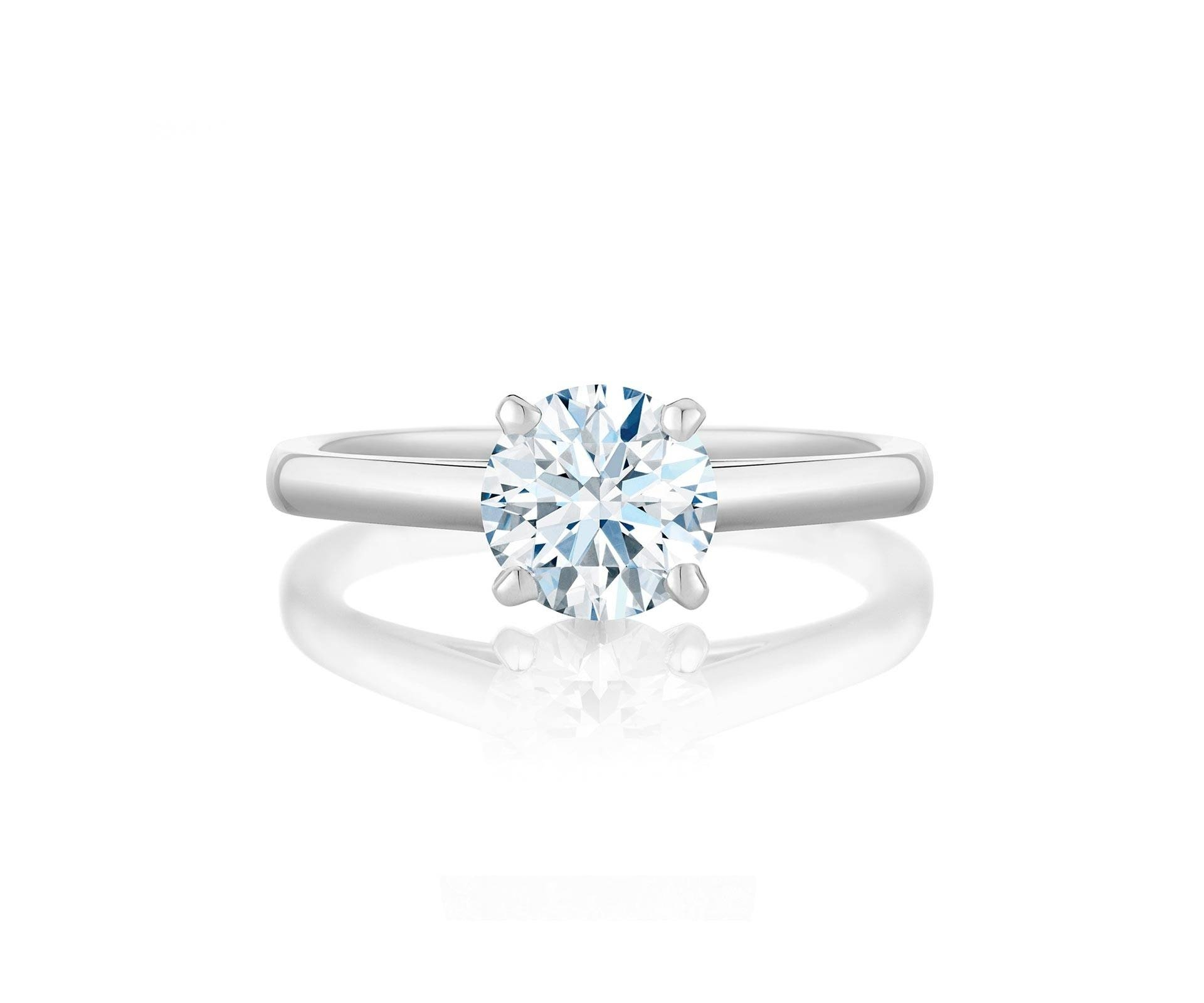 Diamond Engagement Rings & Promise Rings | De Beers Pertaining To Solitare Diamond Engagement Rings (View 4 of 15)