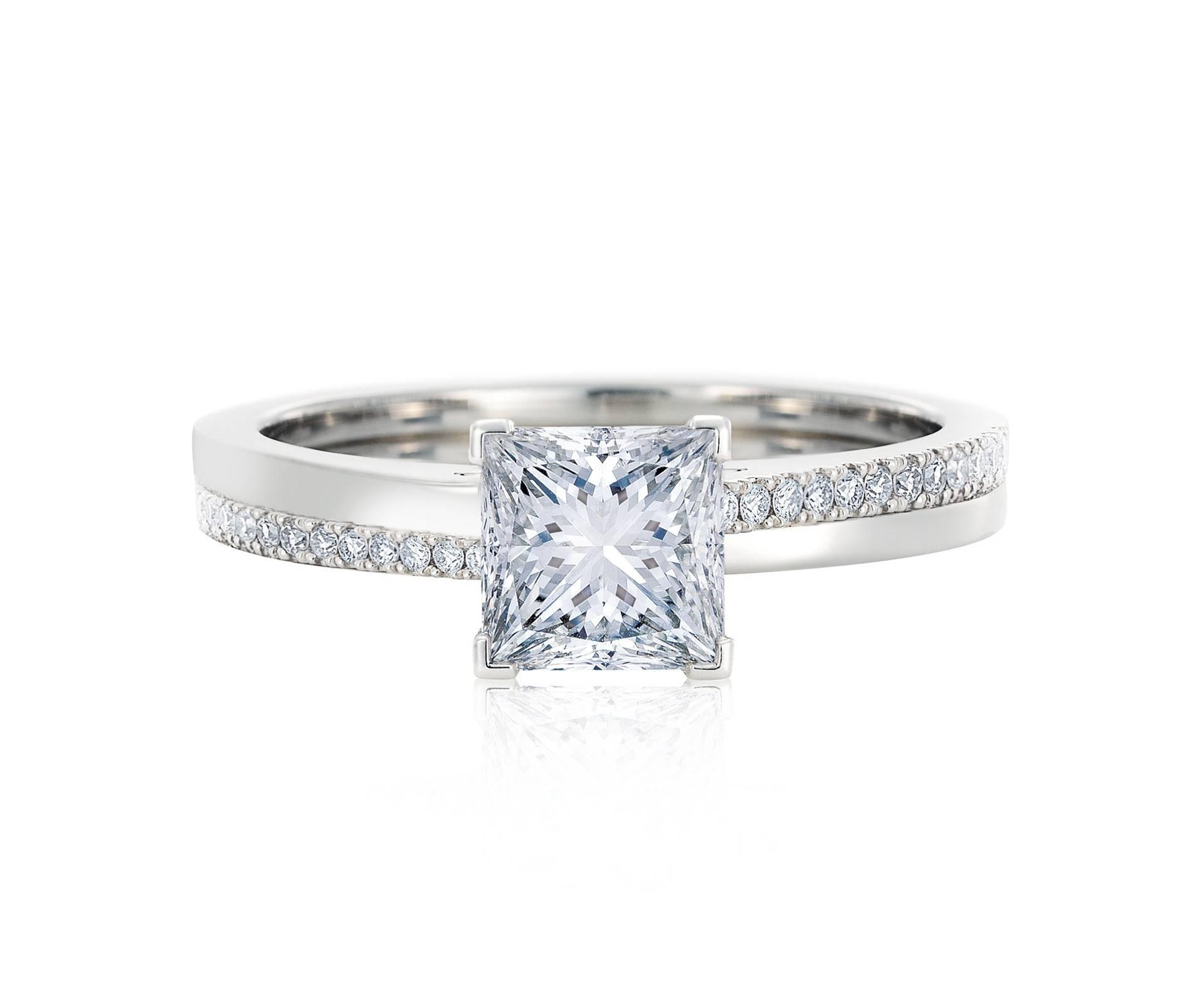Diamond Engagement Rings & Promise Rings | De Beers Within Diamonds Engagement Rings (Gallery 4 of 15)