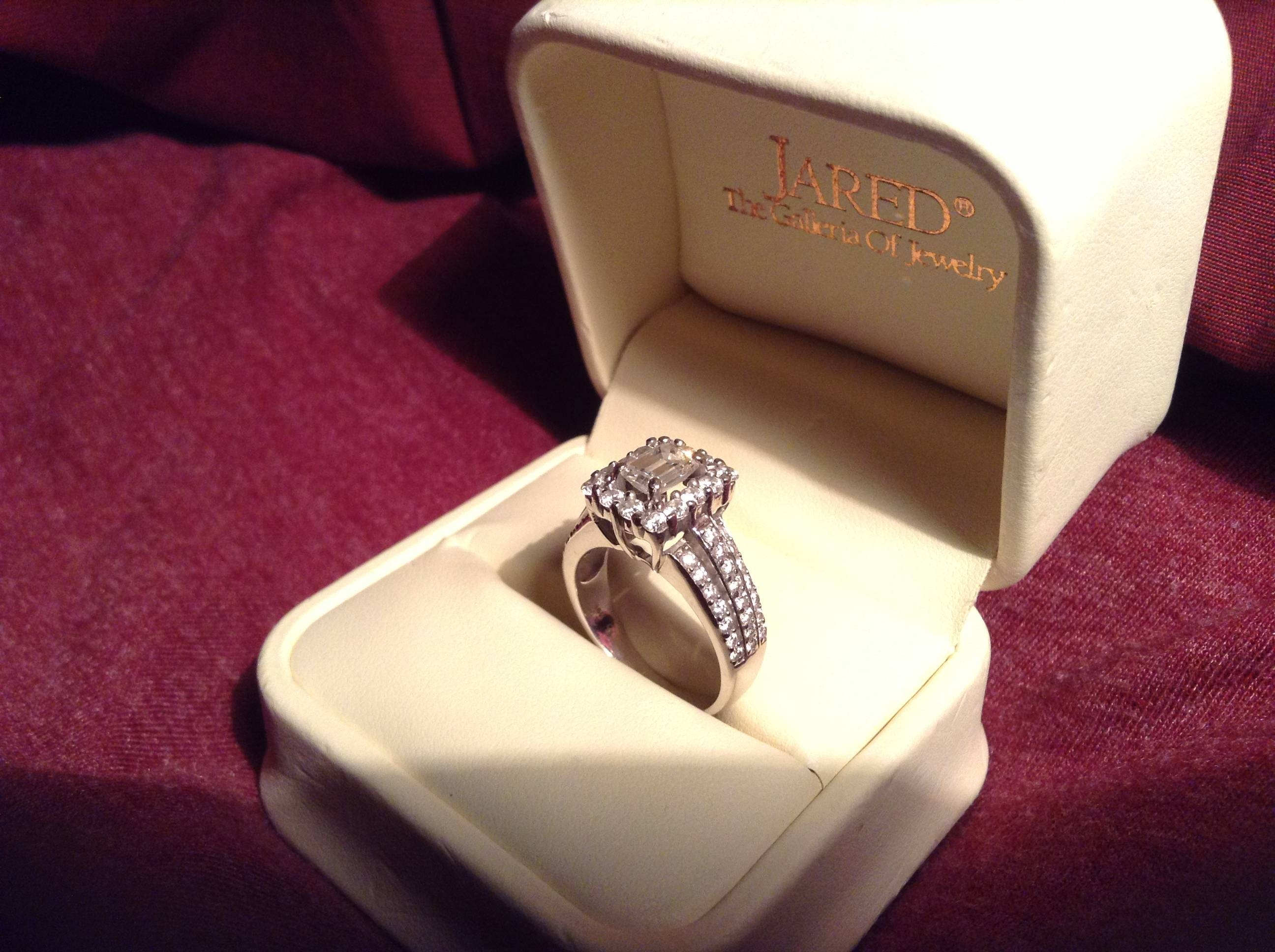 Diamond Ring In Box | Diamondstud Within Engagement Rings In The Box (View 3 of 15)