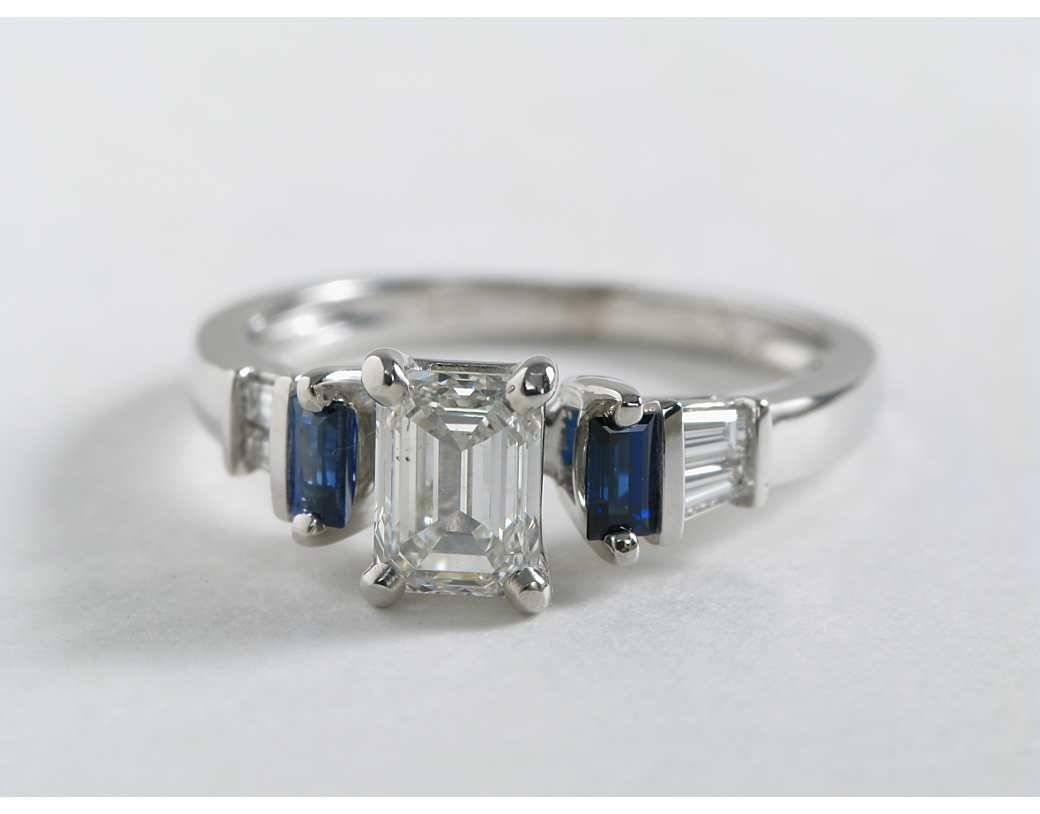 Featured Photo of Baguette Cut Diamond Engagement Rings