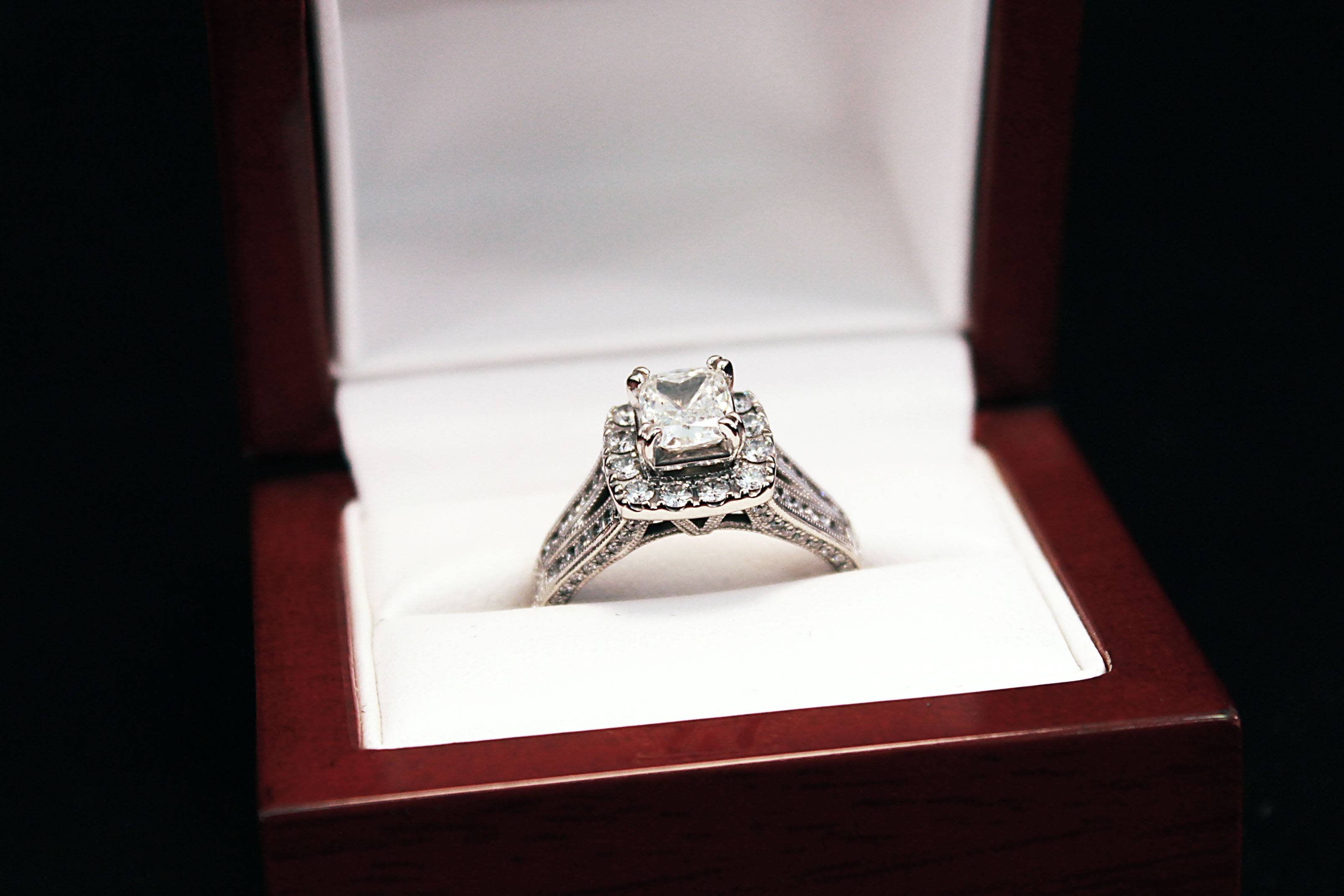Diamond Rings Whitehall | Wedding, Promise, Diamond, Engagement Within Engagement Rings In The Box (View 4 of 15)